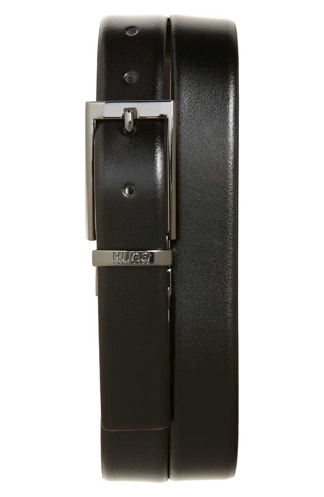 BOSS Elvio Reversible Leather Belt