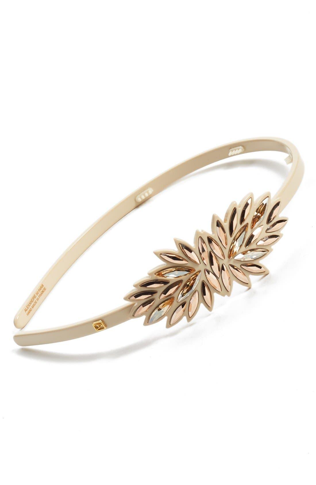 ALEXANDRE DE PARIS 'Eclat Solaire' Headband