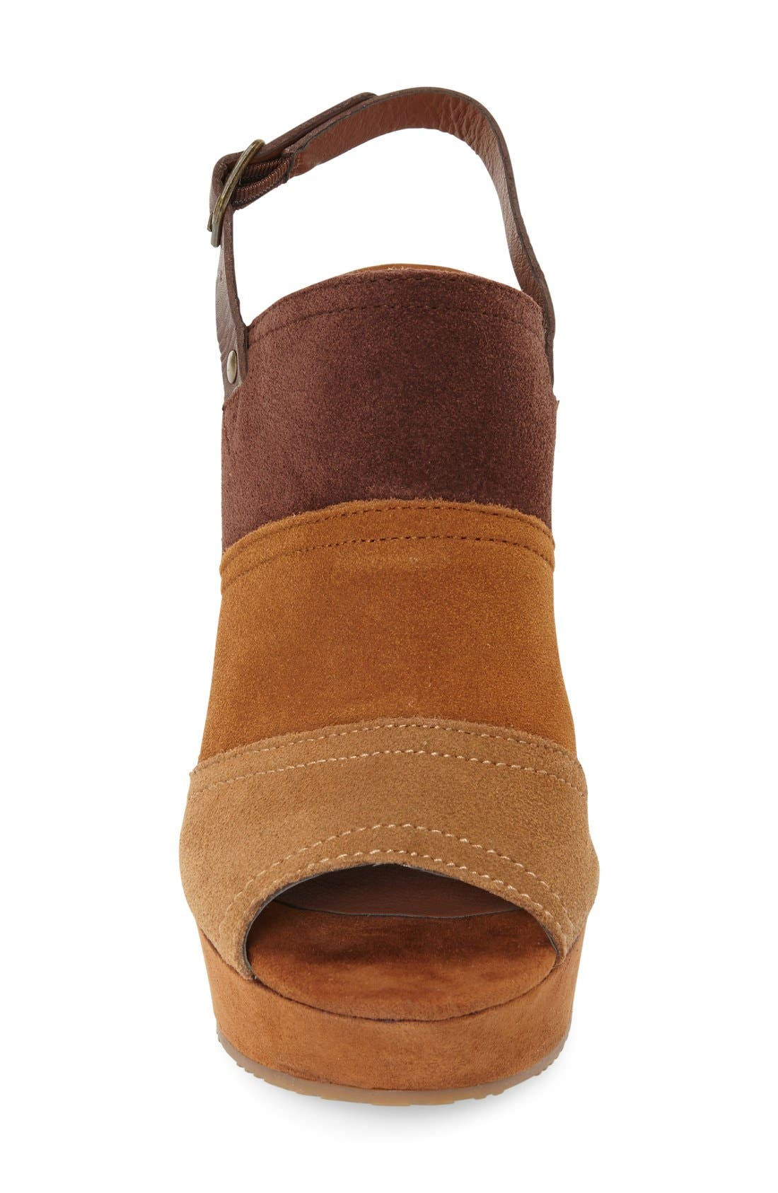 Alternate Image 3  - Lucky Brand 'Frescala' Wedge Sandal (Women)