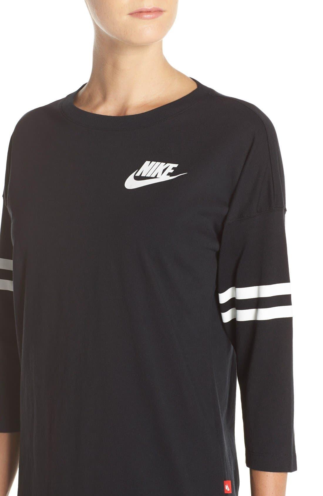 Alternate Image 4  - Nike 'Just Do It Spirit' Top