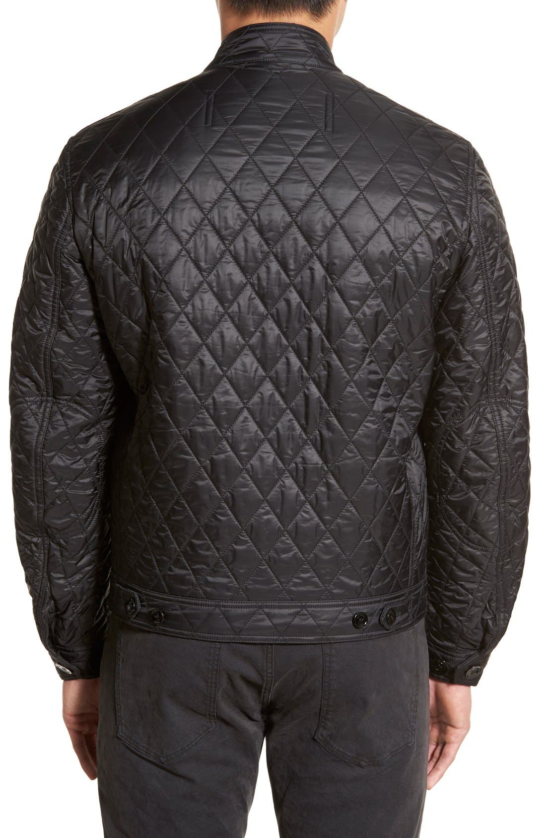 Alternate Image 3  - Burberry Brit 'Howson' Quilted Bomber Jacket