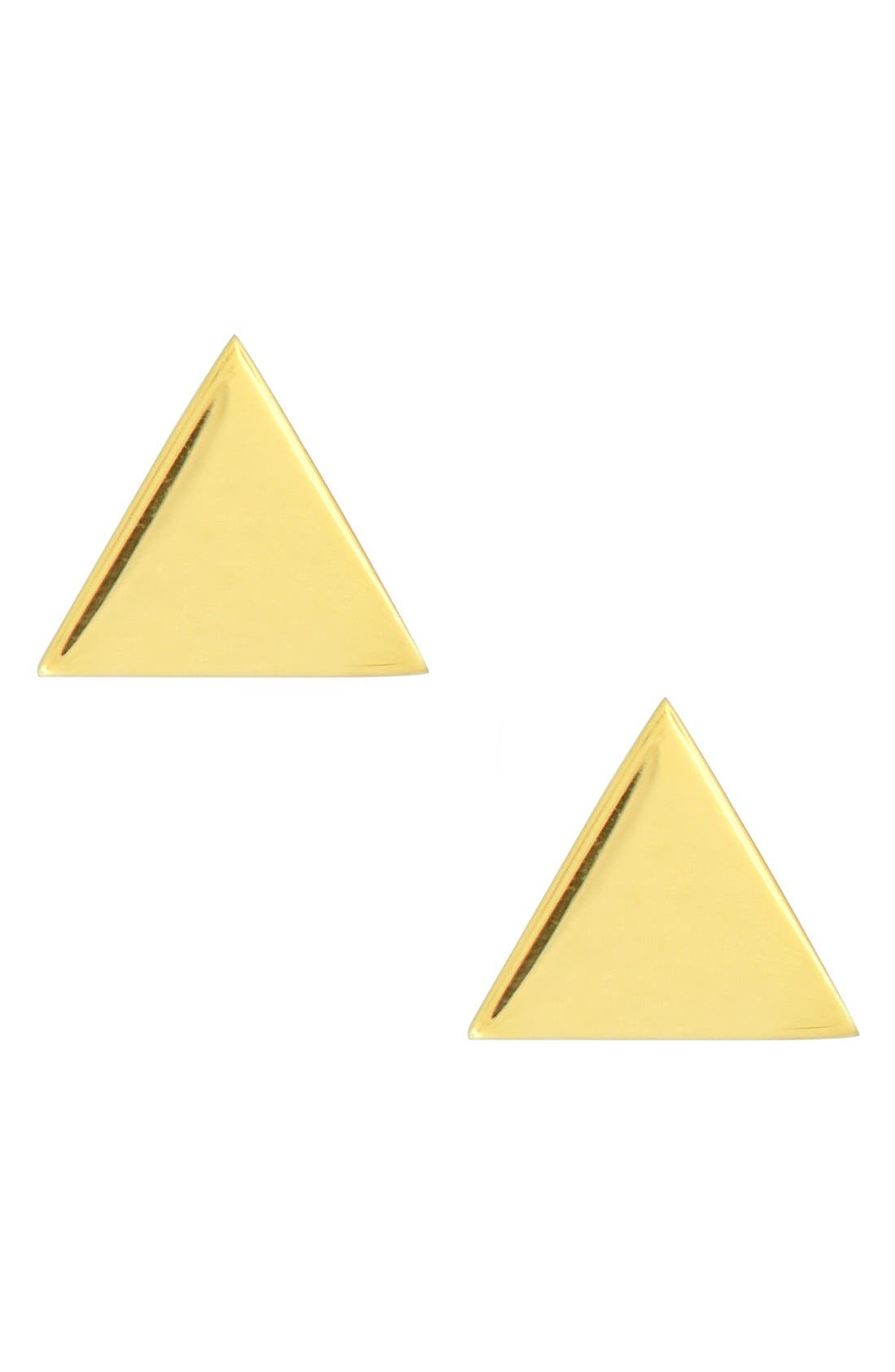 Alternate Image 1 Selected - Bony Levy Triangle Stud Earrings (Nordstrom Exclusive)