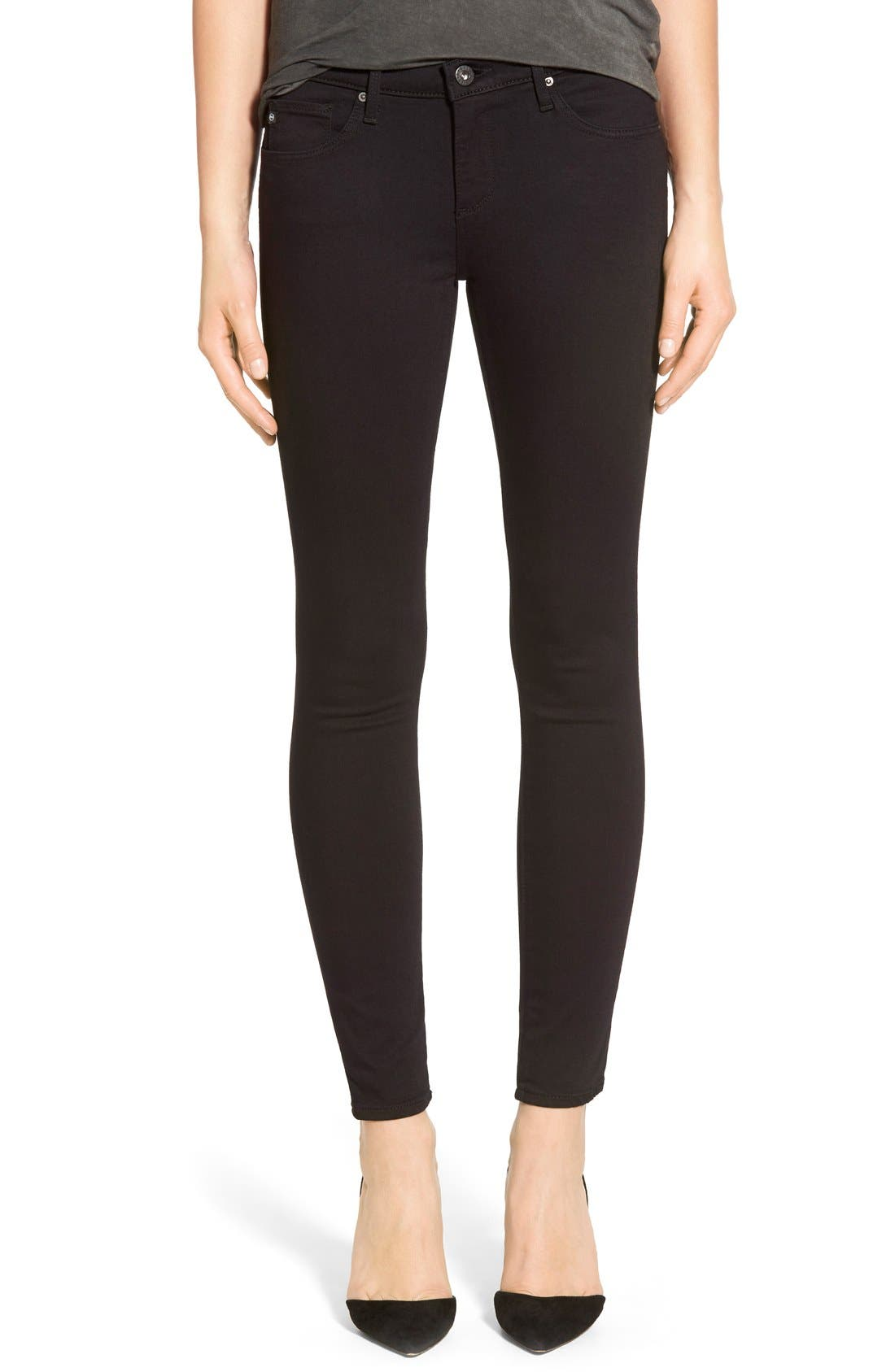AG 'The Legging' Ankle Super Skinny Jeans (Super Black) | Nordstrom