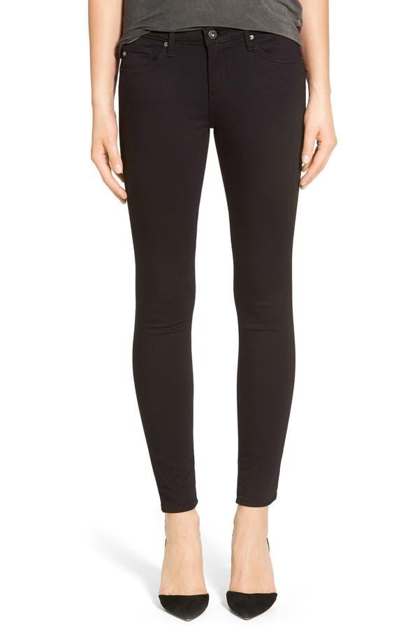 AG 'The Legging' Ankle Super Skinny Jeans (Super Black)   Nordstrom