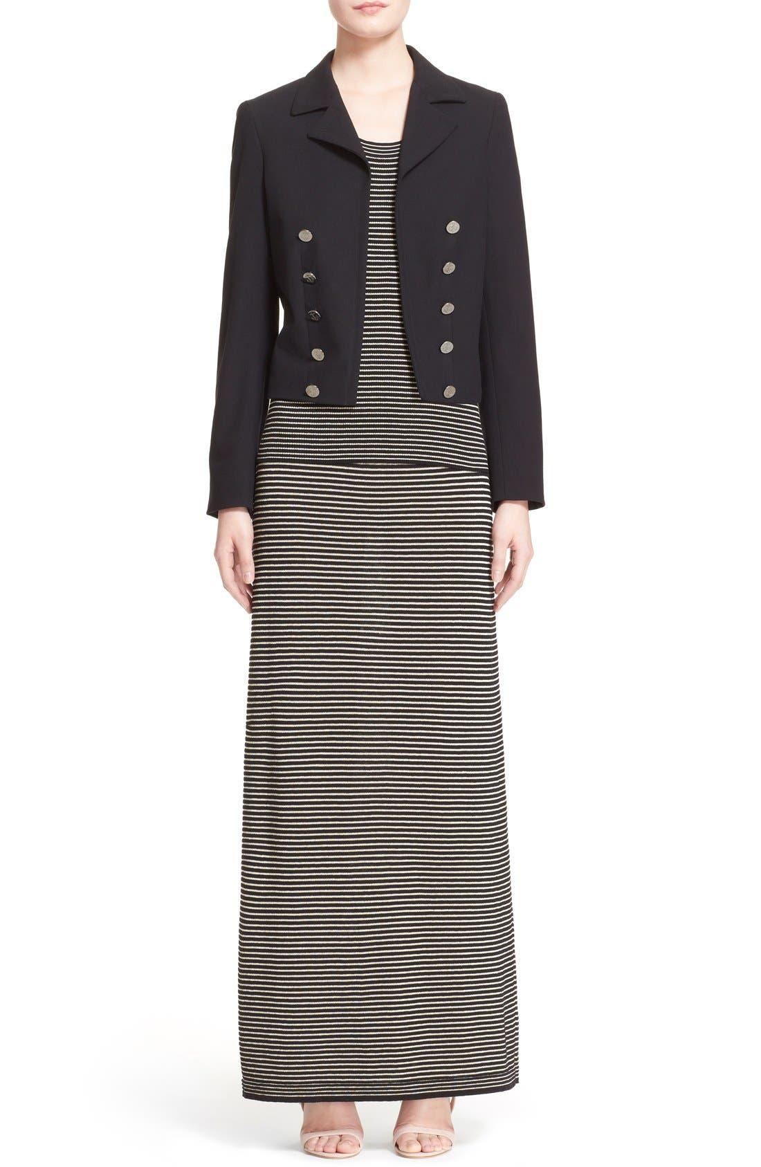 Alternate Image 7  - Max Mara 'Talpa' Stretch Cotton & Linen Jacket