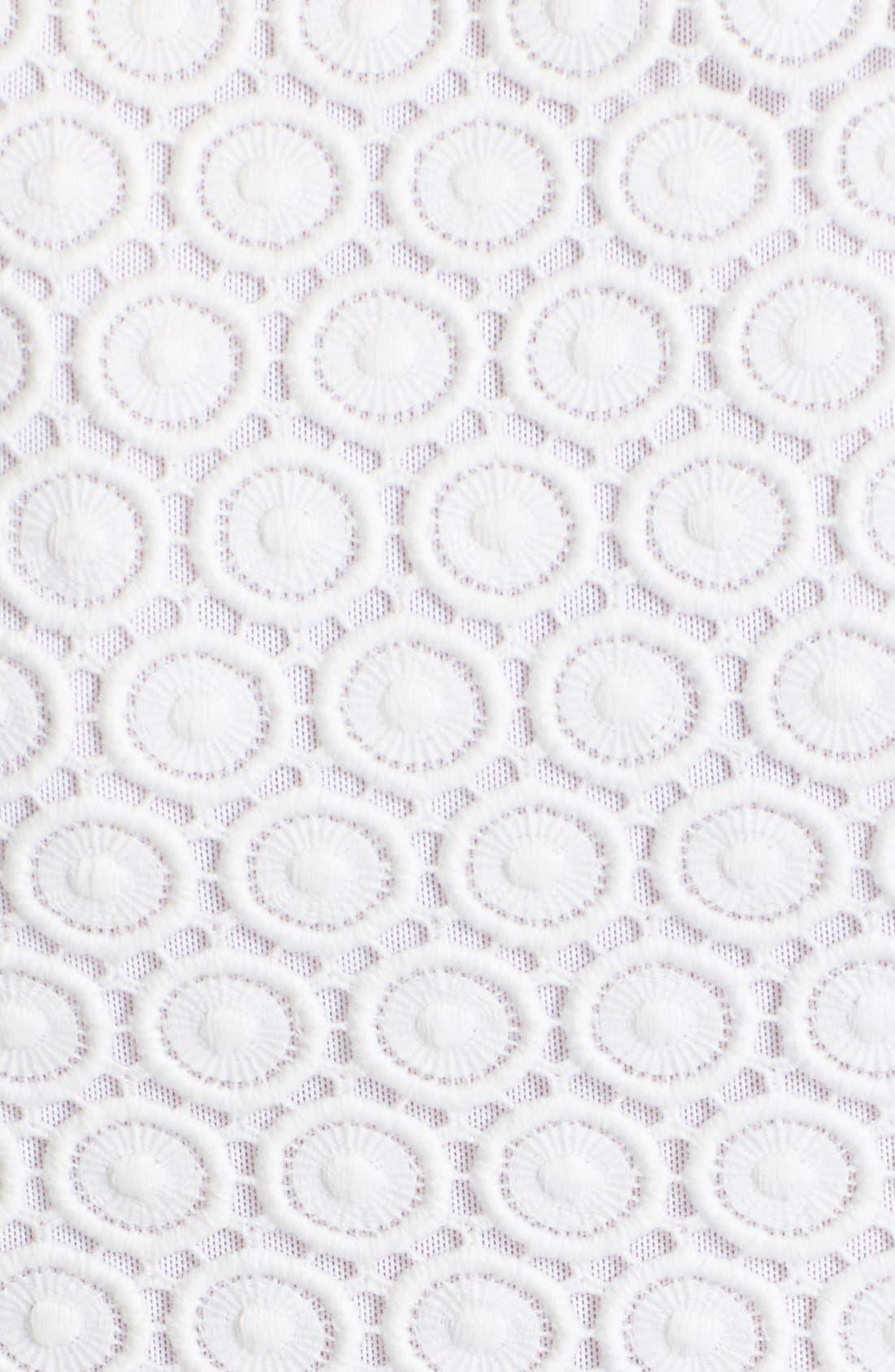 Alternate Image 5  - Diane von Furstenberg 'Tavita' Sleeveless Lace Top