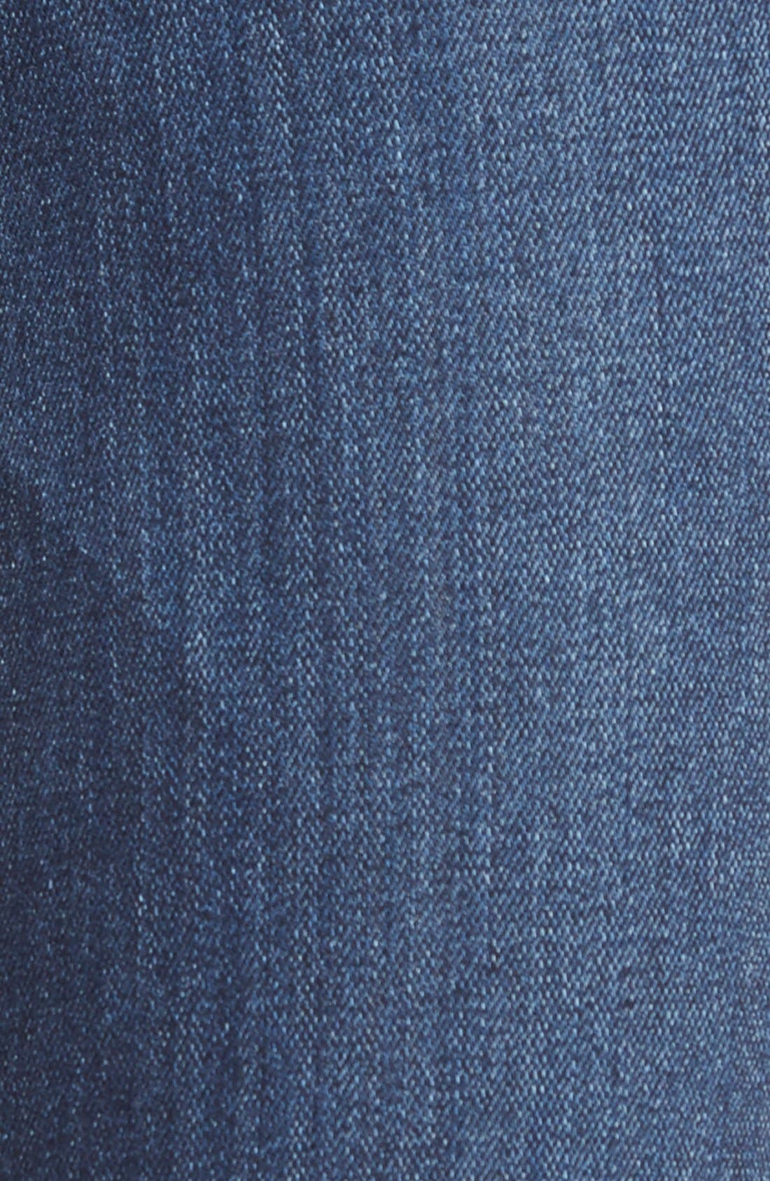 Alternate Image 5  - Paige Denim 'Skyline' Ankle Peg Jeans (Elia Deconstructed)