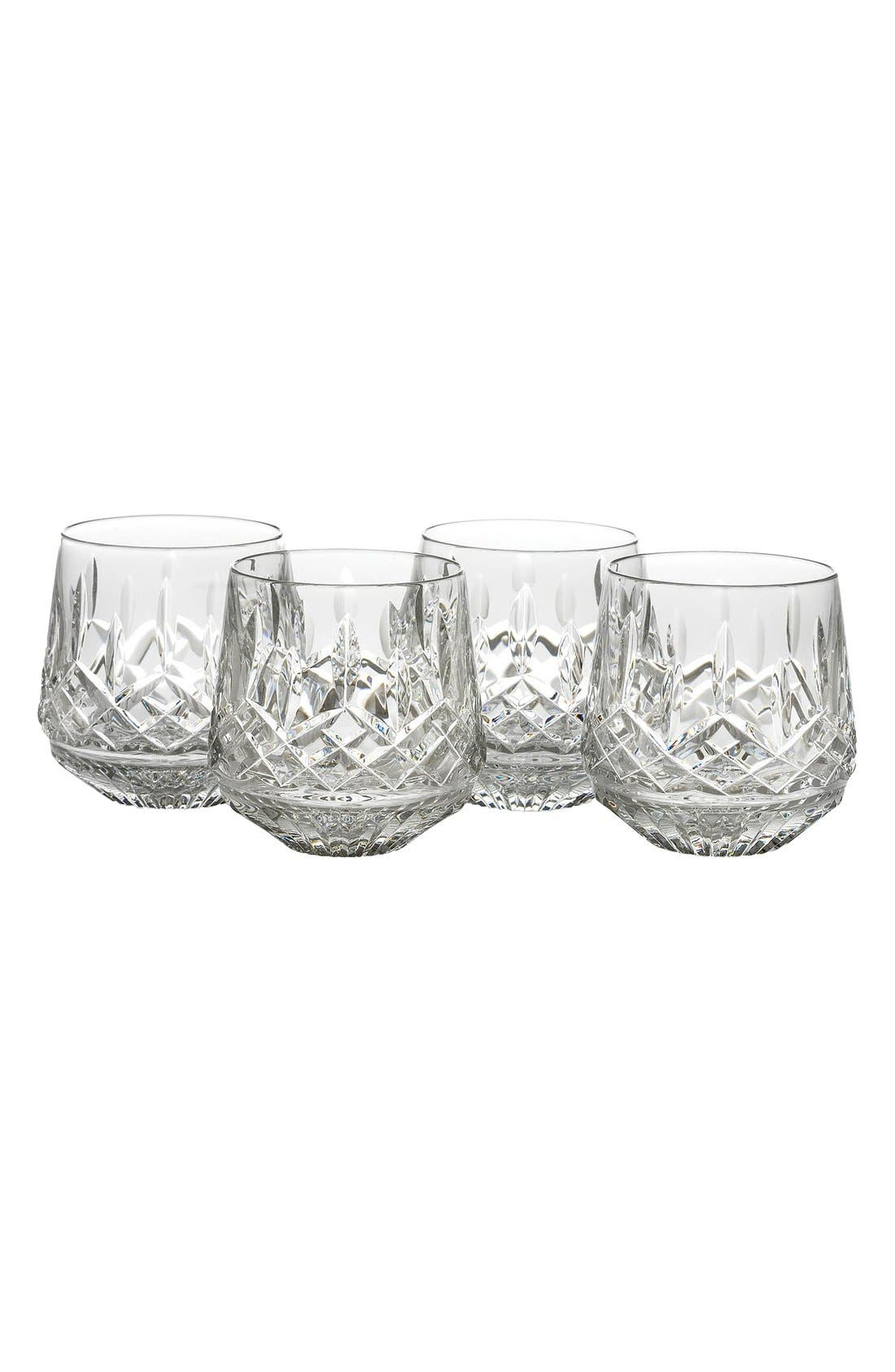 Waterford Lead Crystal Old Fashioned Glasses (Set of 4)