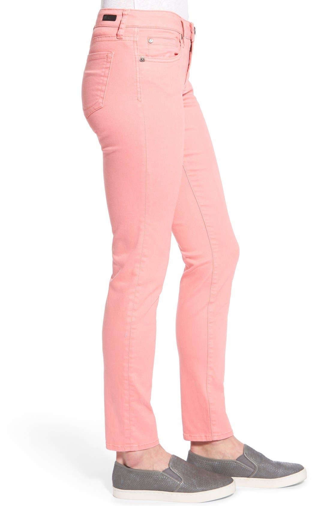 Alternate Image 4  - KUT from the Kloth 'Diana' Skinny Five-Pocket Pants