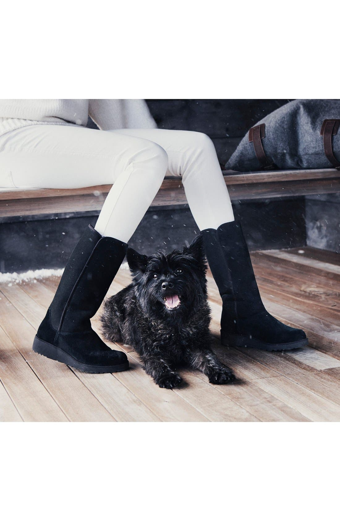 Alternate Image 7  - UGG® Kara - Classic Slim™ Water Resistant Tall Boot (Women)