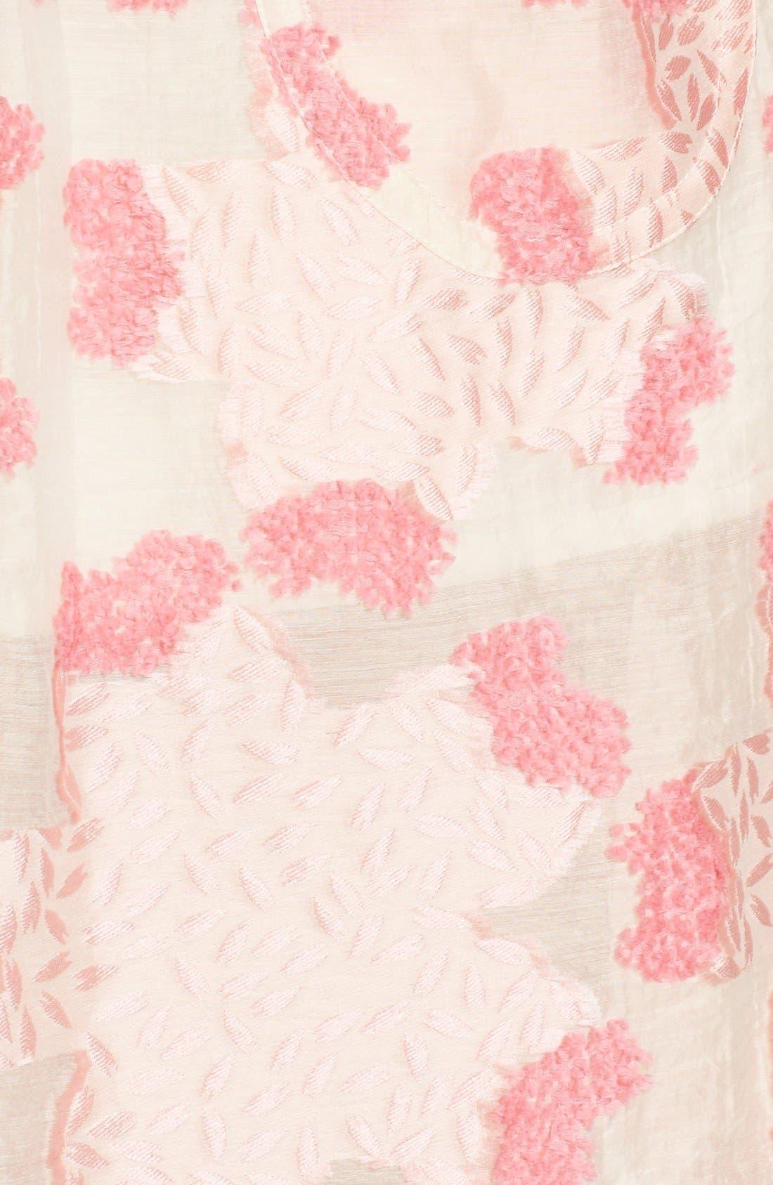 Alternate Image 3  - Julien David Fil Coupé Floral Jacquard Skirt
