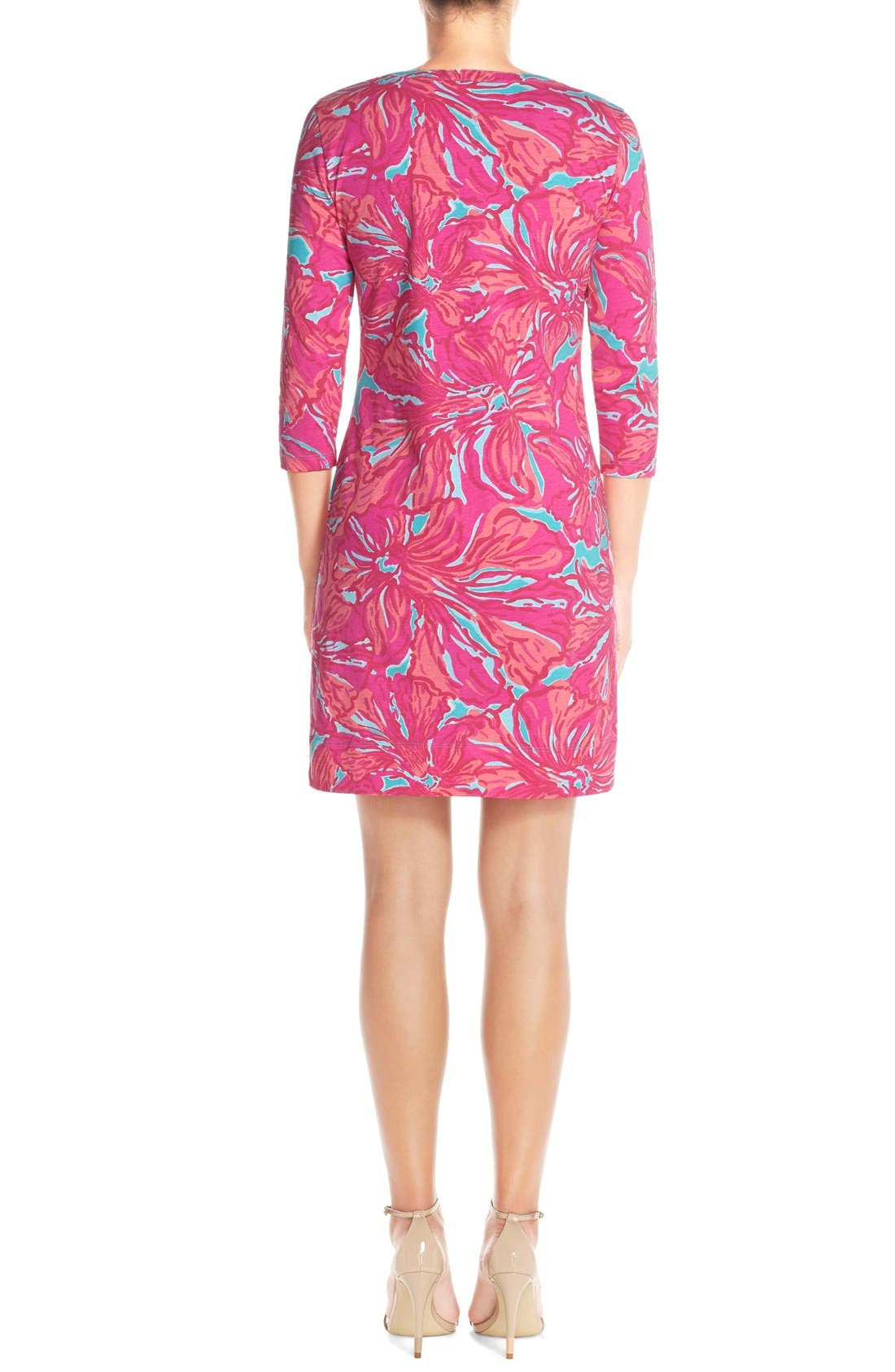 Alternate Image 2  - Lilly Pulitzer® 'Alessia' Print Pima Cotton T-Shirt Dress (Nordstrom Exclusive)