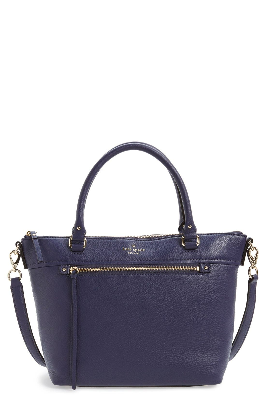 Main Image - kate spade new york 'cobble hill - small gina' leather tote