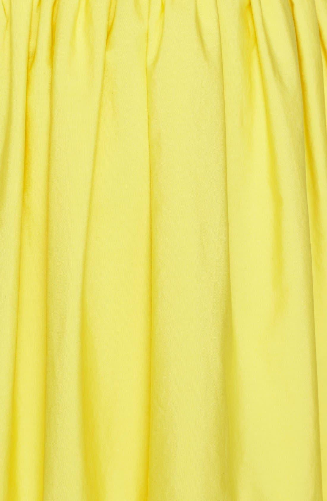 Alternate Image 5  - Alice + Olivia 'Morina' Lattice Trim Cotton Skirt