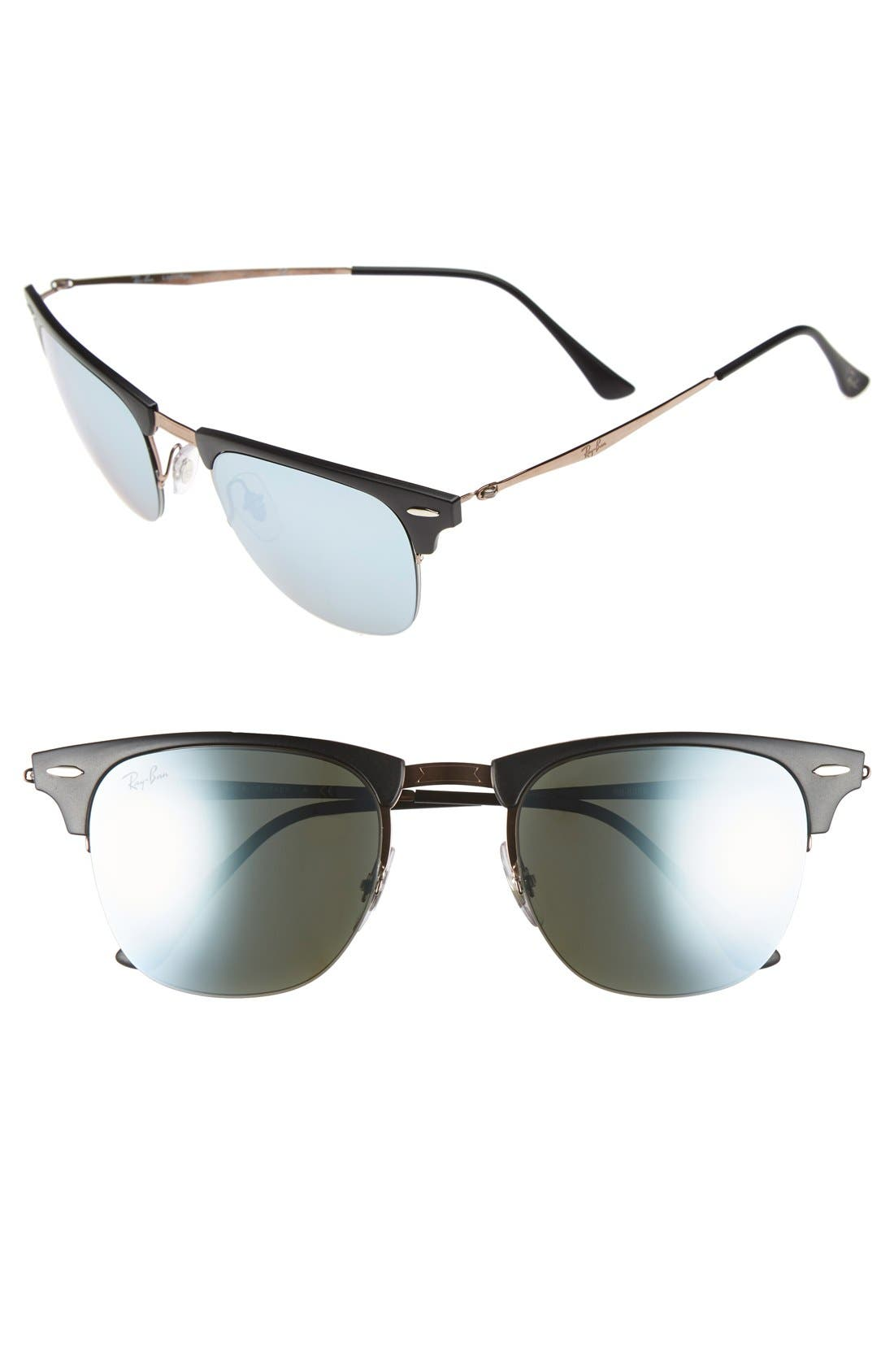 Main Image - Ray-Ban 'Clubmaster' 51mm Sunglasses