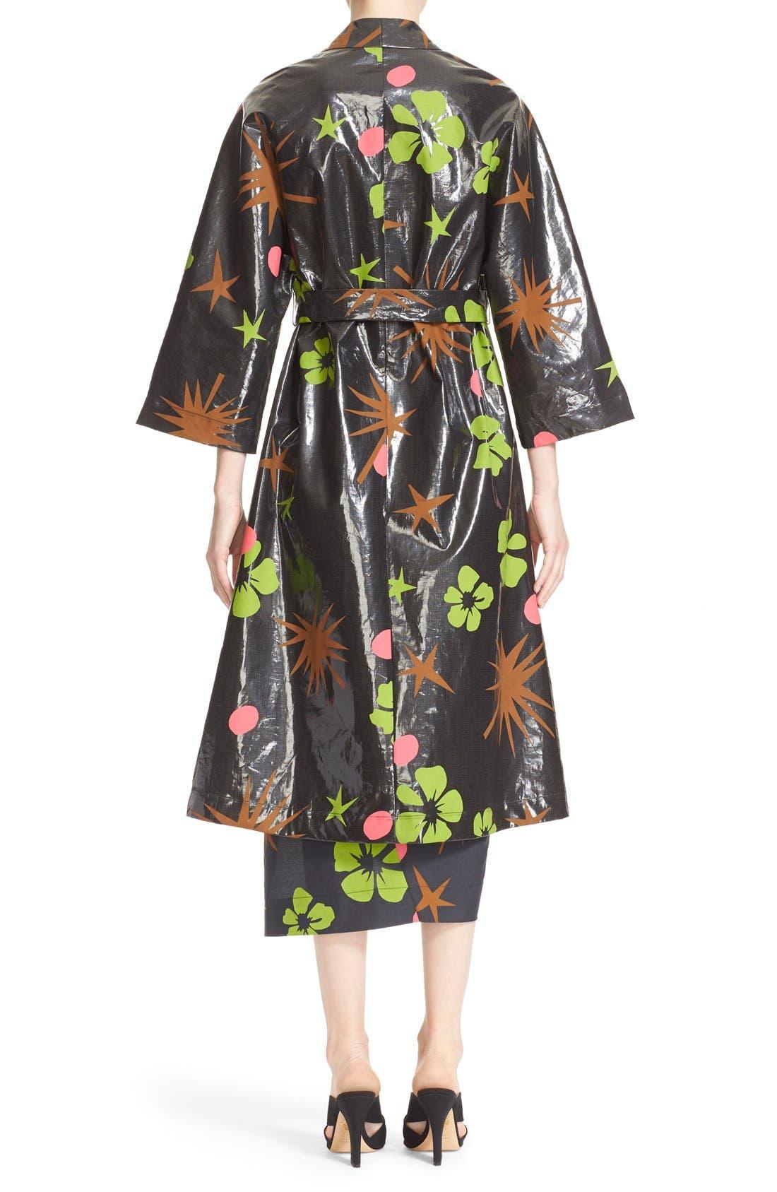 Alternate Image 2  - Isa Arfen Coated Linen Robe Coat