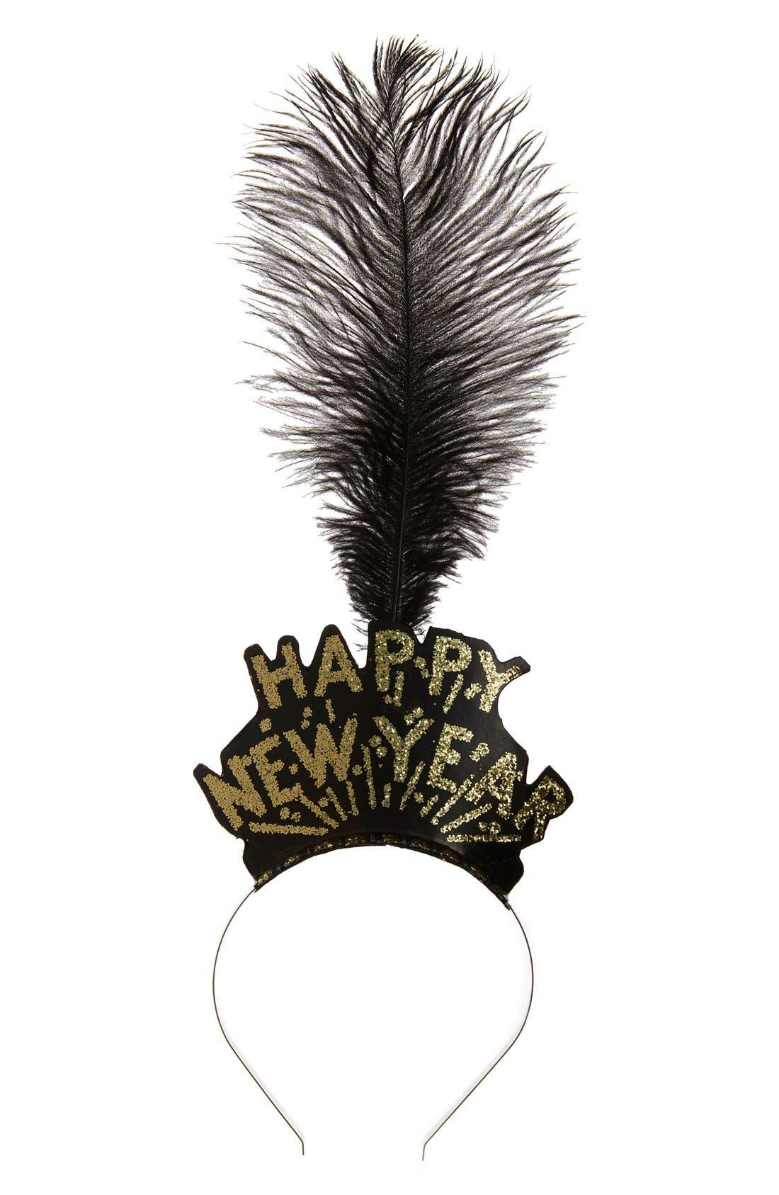 Alternate Image 1 Selected - Cara 'Happy New Year' Headband
