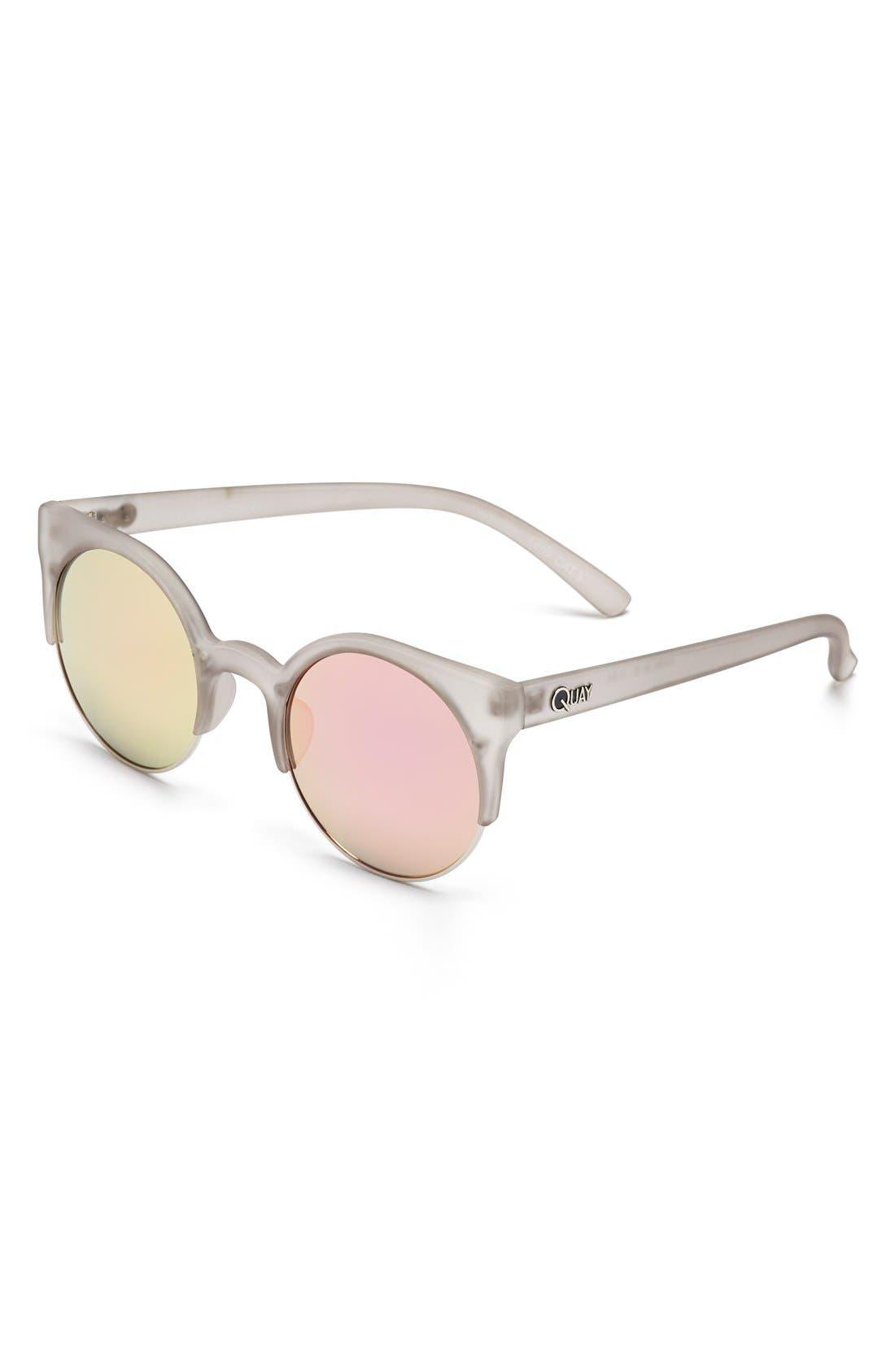 Alternate Image 1 Selected - Quay Australia 'Harlm' 50mm Sunglasses
