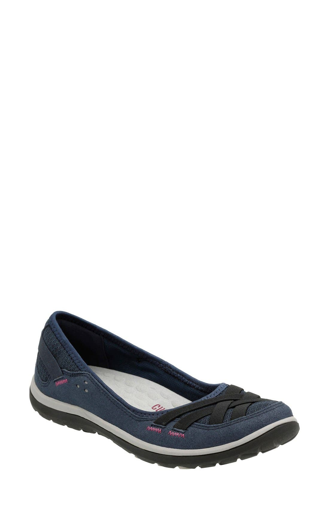 Clarks® 'Aria' Slip-On (Women)
