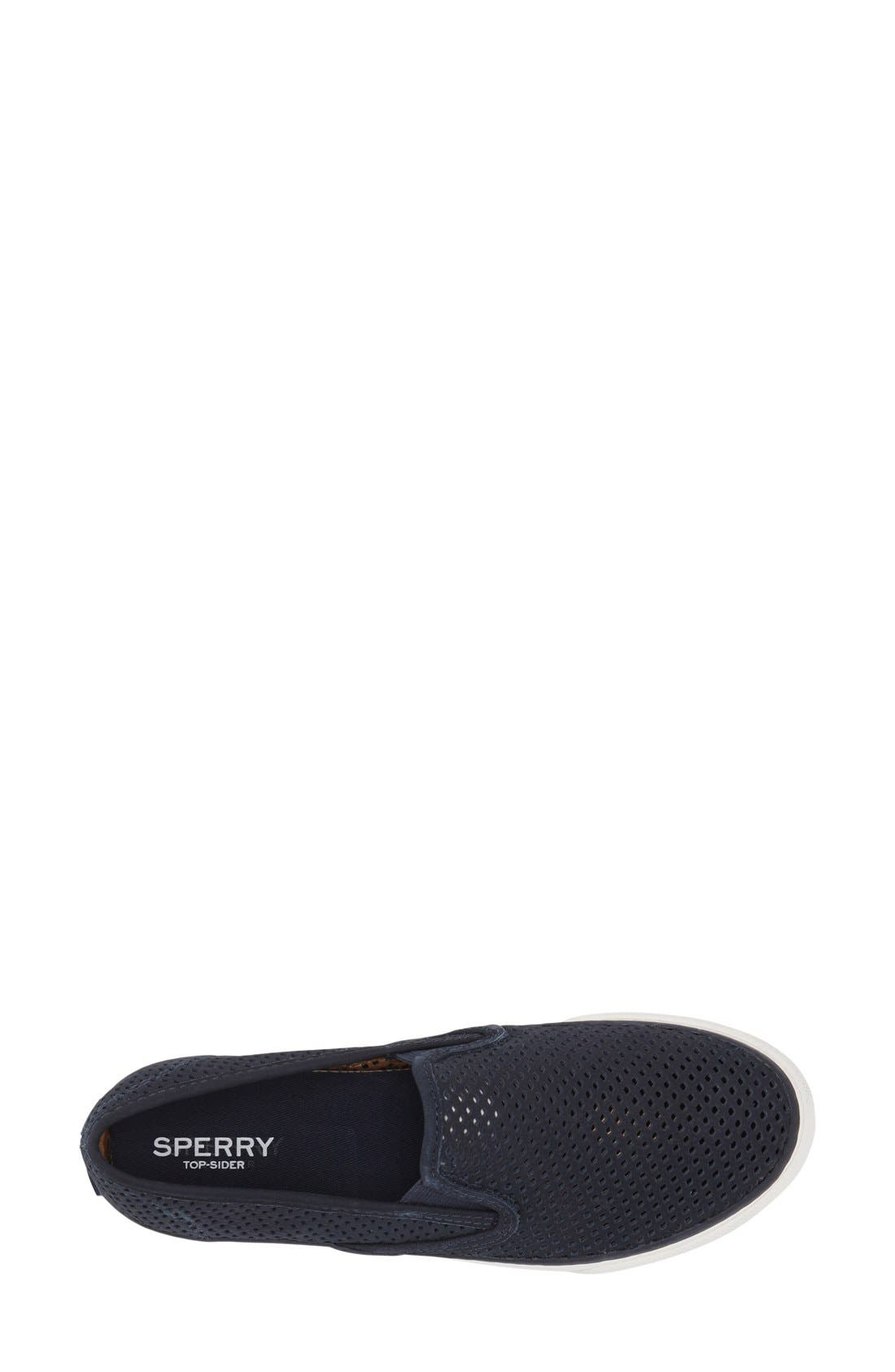 Alternate Image 3  - Sperry 'Seaside' Perforated Slip-On Sneaker (Women)