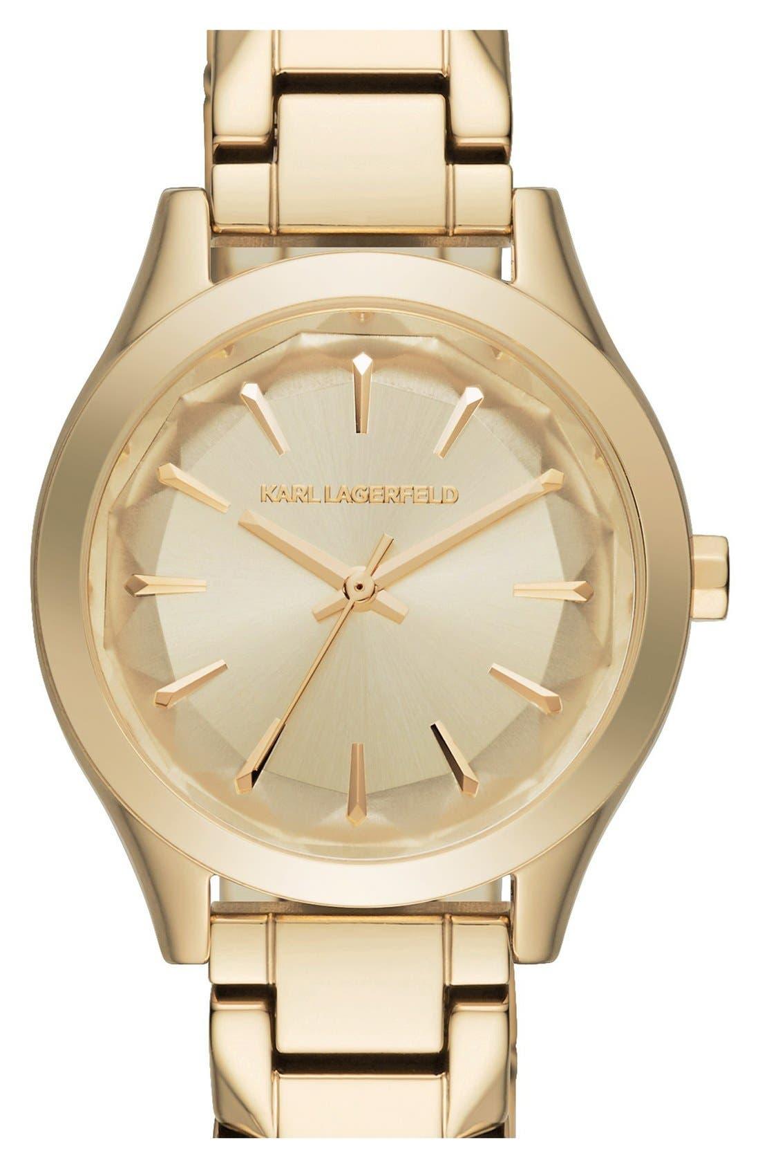 Main Image - Karl Lagerfeld 'Belleville' Bracelet Watch, 31mm