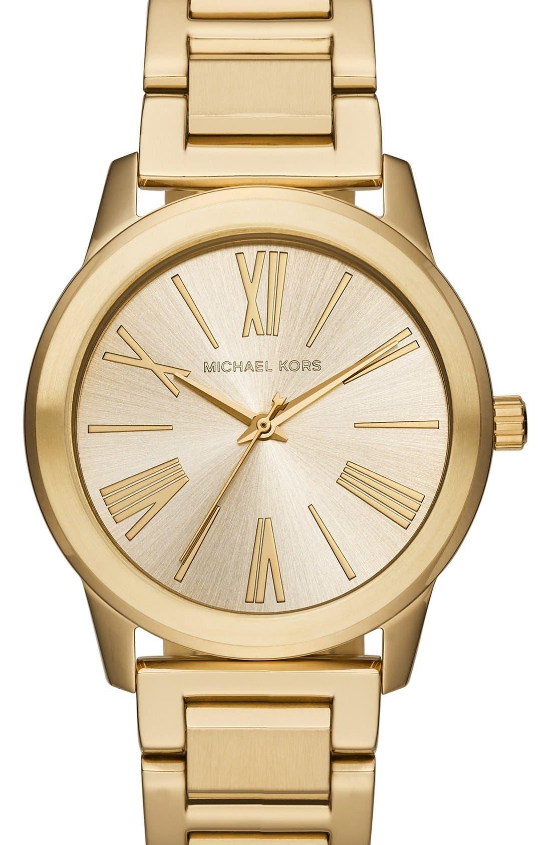 Alternate Image 1 Selected - Michael Kors 'Hartman' Bracelet Watch, 38mm