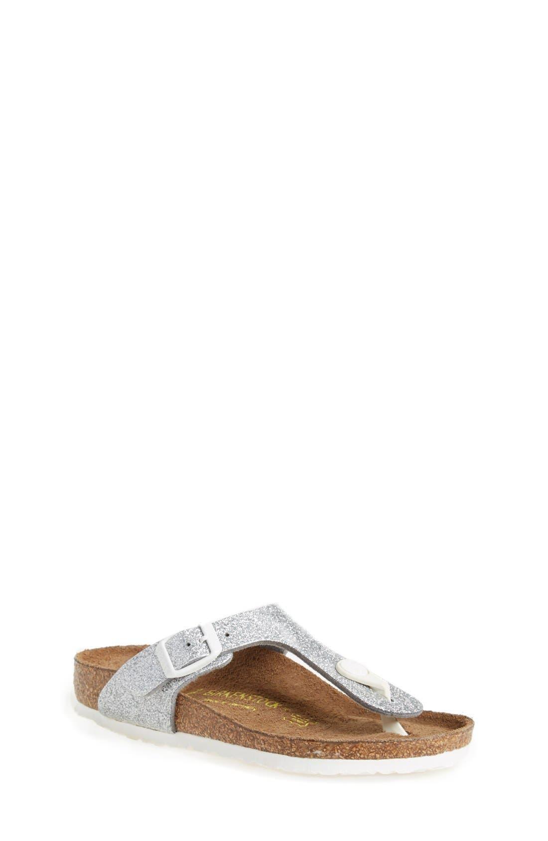 BIRKENSTOCK 'Gizeh Galaxy Birko-Flor' Thong Sandal
