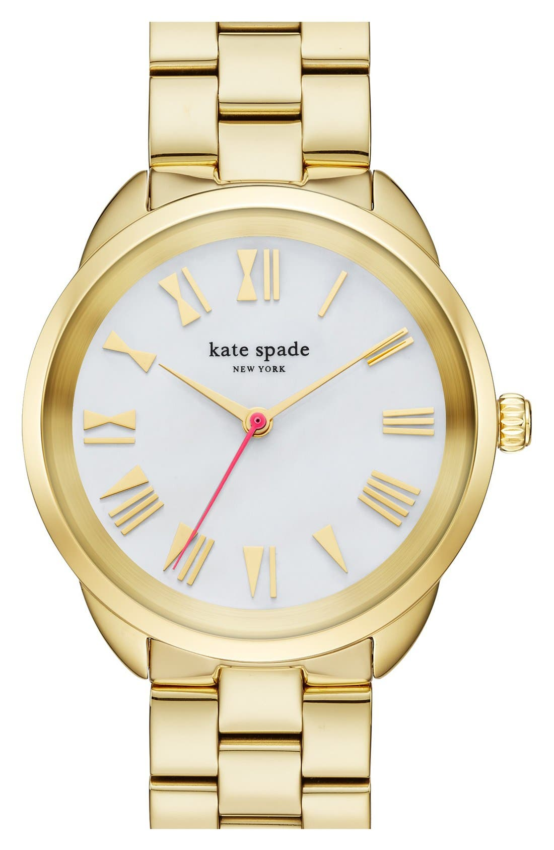 Alternate Image 1 Selected - kate spade 'crosstown' bracelet watch, 34mm