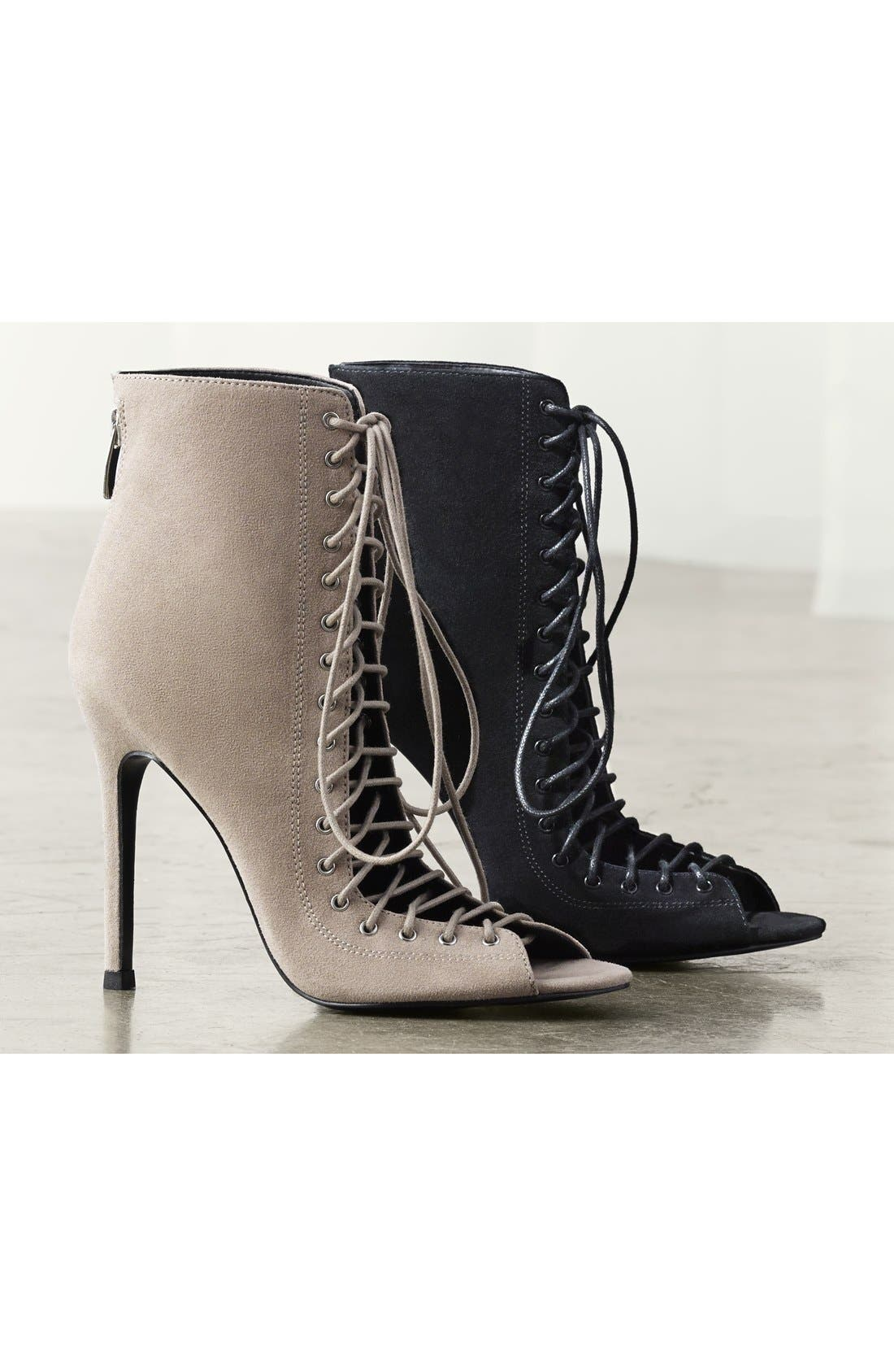 Alternate Image 5  - KENDALL + KYLIE 'Ginny' Lace-Up Sandal (Women)