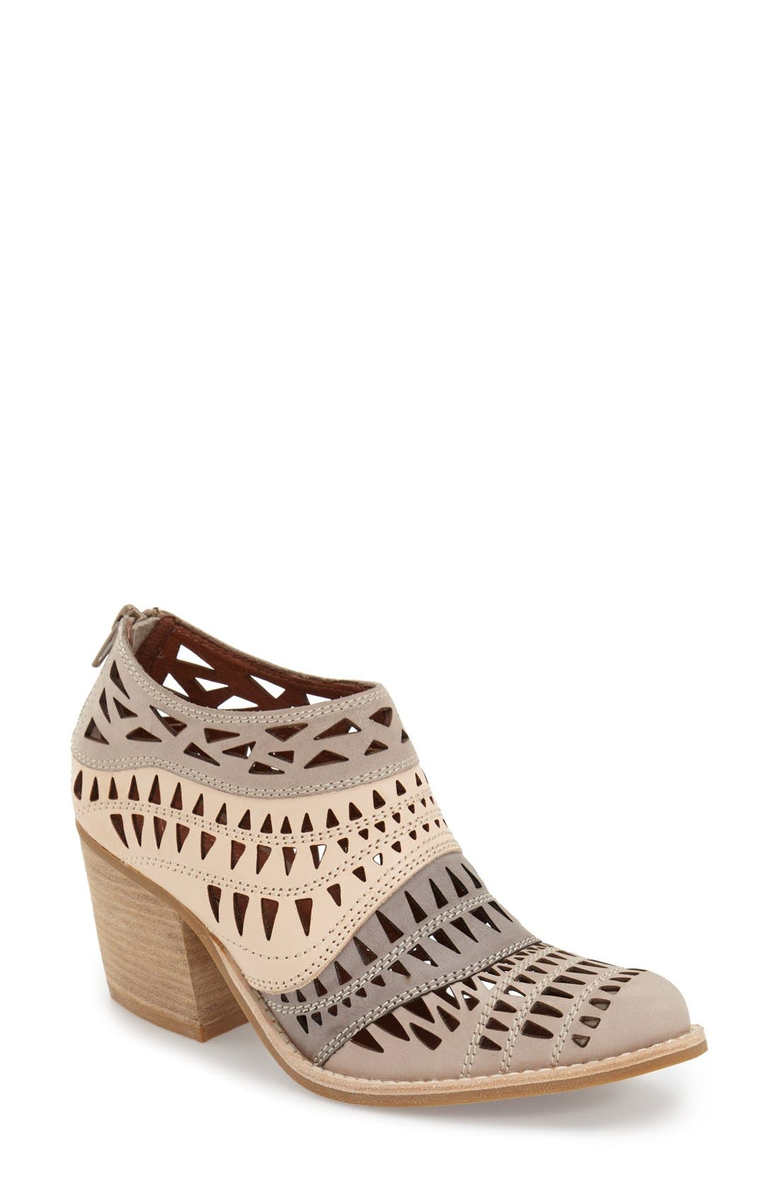 Alternate Image 1 Selected - Jeffrey Campbell 'Faviola' Cutout Western Bootie (Women)