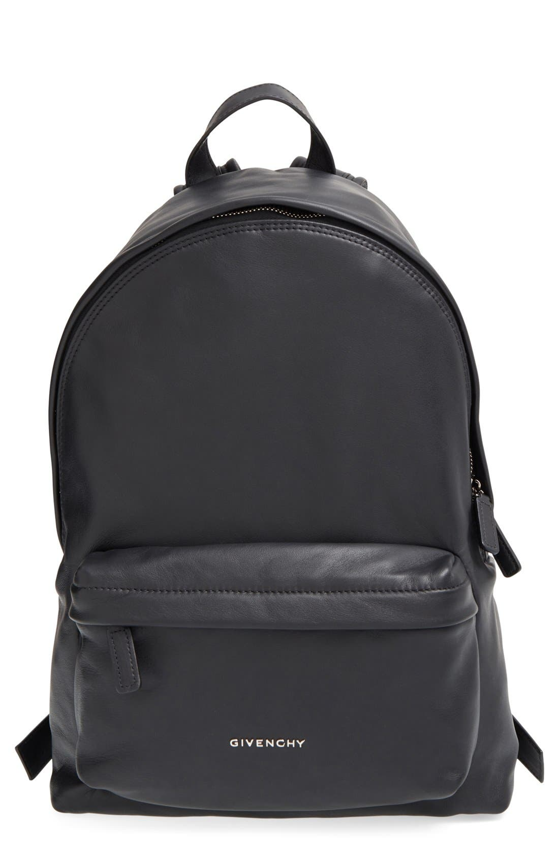 Alternate Image 1 Selected - Givenchy Calfskin Leather Backpack