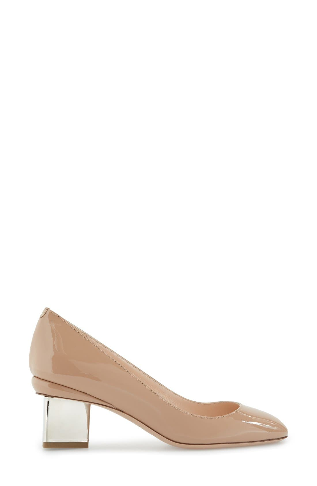 Alternate Image 4  - Nicholas Kirkwood 'Briona' Round Toe Pump (Women)