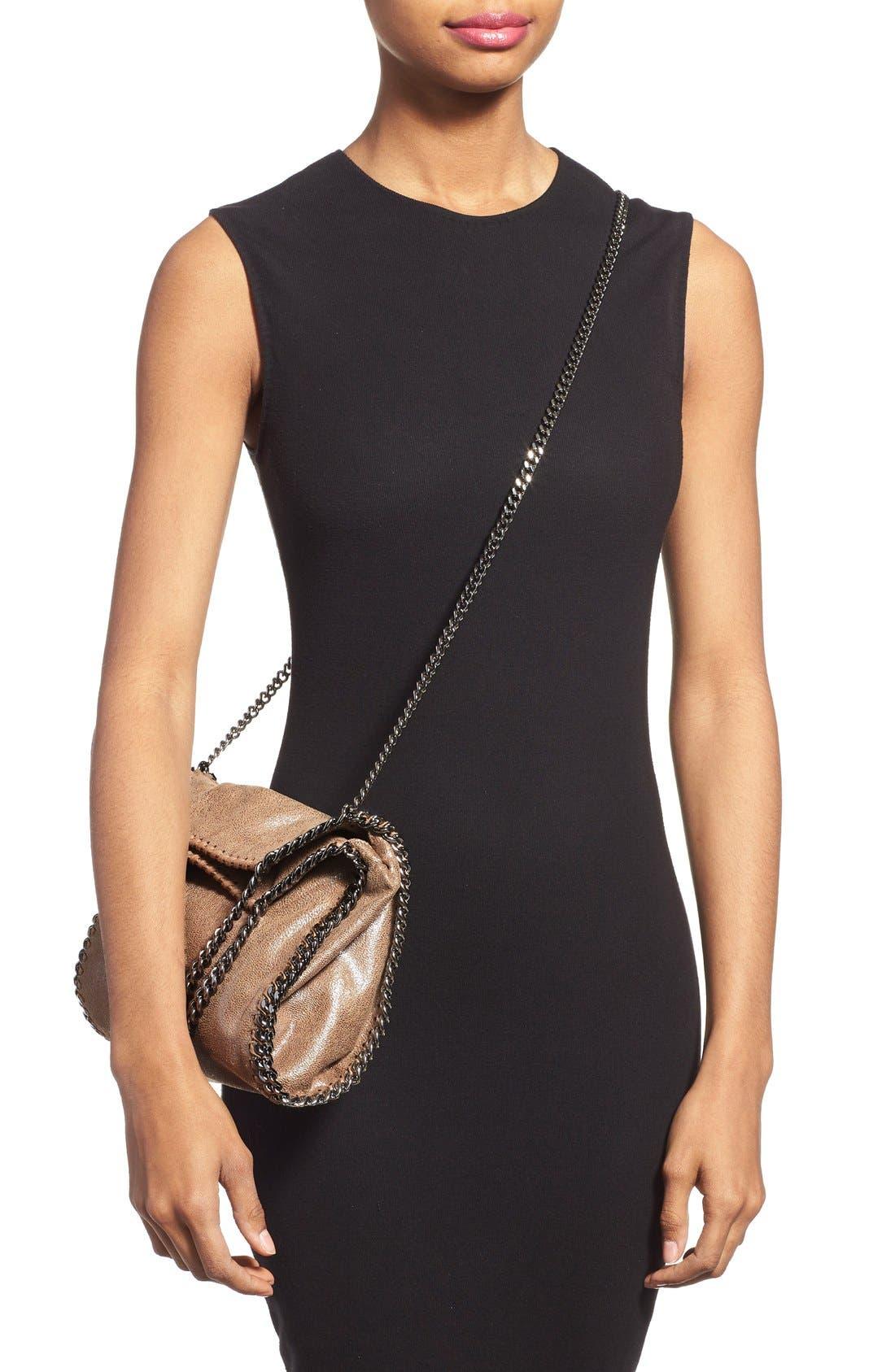 Alternate Image 2  - Stella McCartney 'Mini Falabella' Faux Leather Crossbody Bag