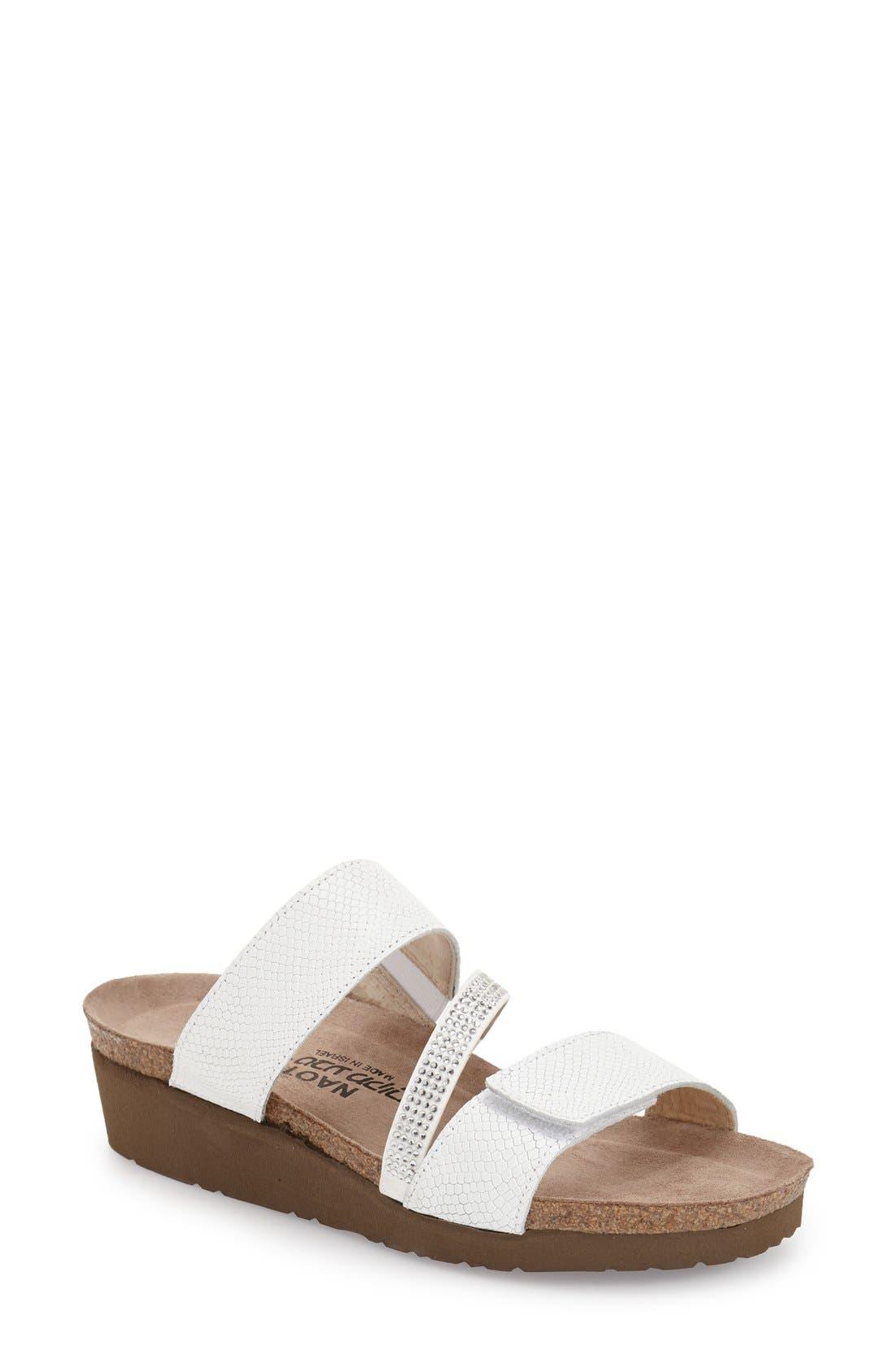Naot 'Sheryl' Crystal Embellished Sandal (Women)