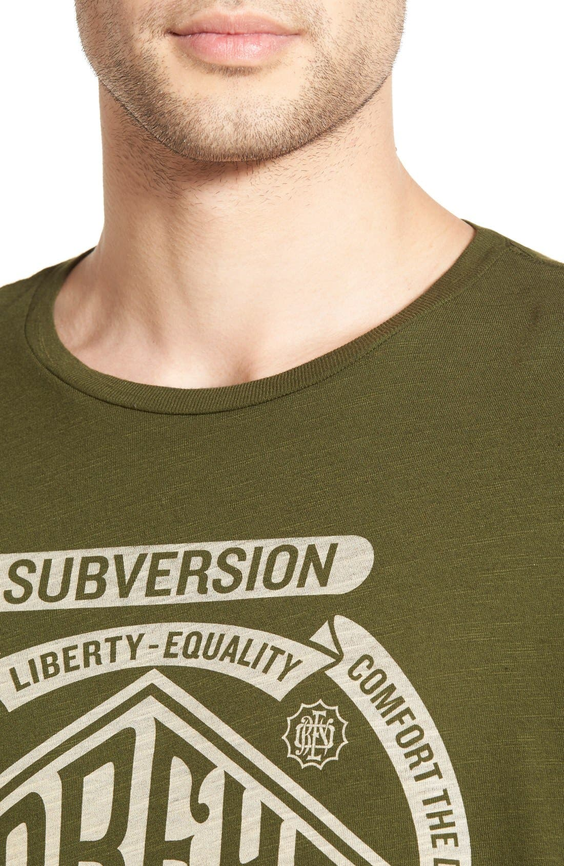 Alternate Image 4  - Obey 'Disturb the Comfortable' Graphic T-Shirt