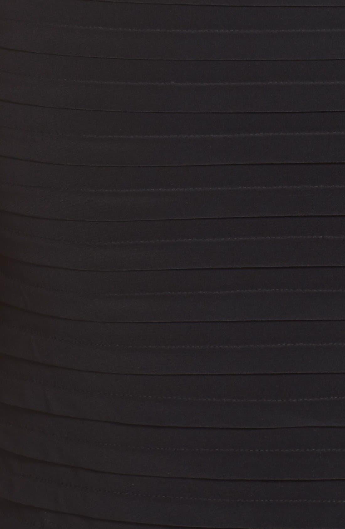 Alternate Image 6  - Xscape Beaded Cold Shoulder Dress (Plus Size)
