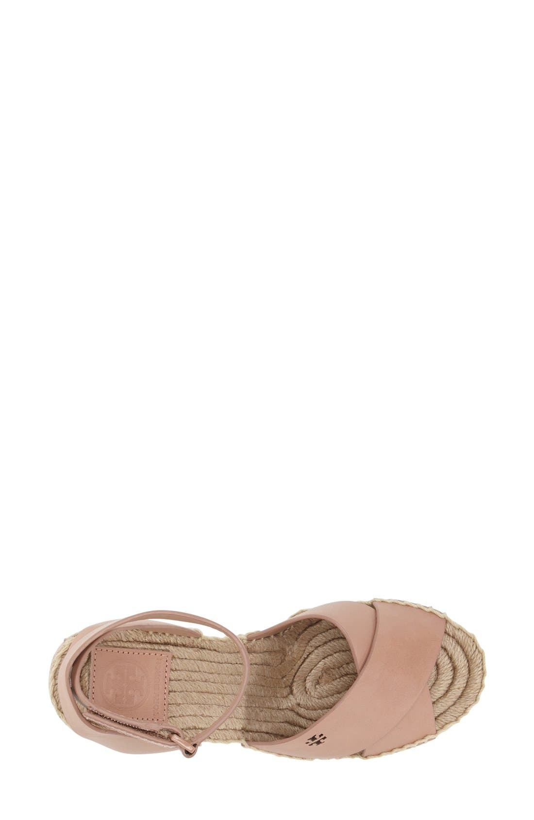 Alternate Image 3  - Tory Burch 'Bima' Espadrille Wedge (Women)
