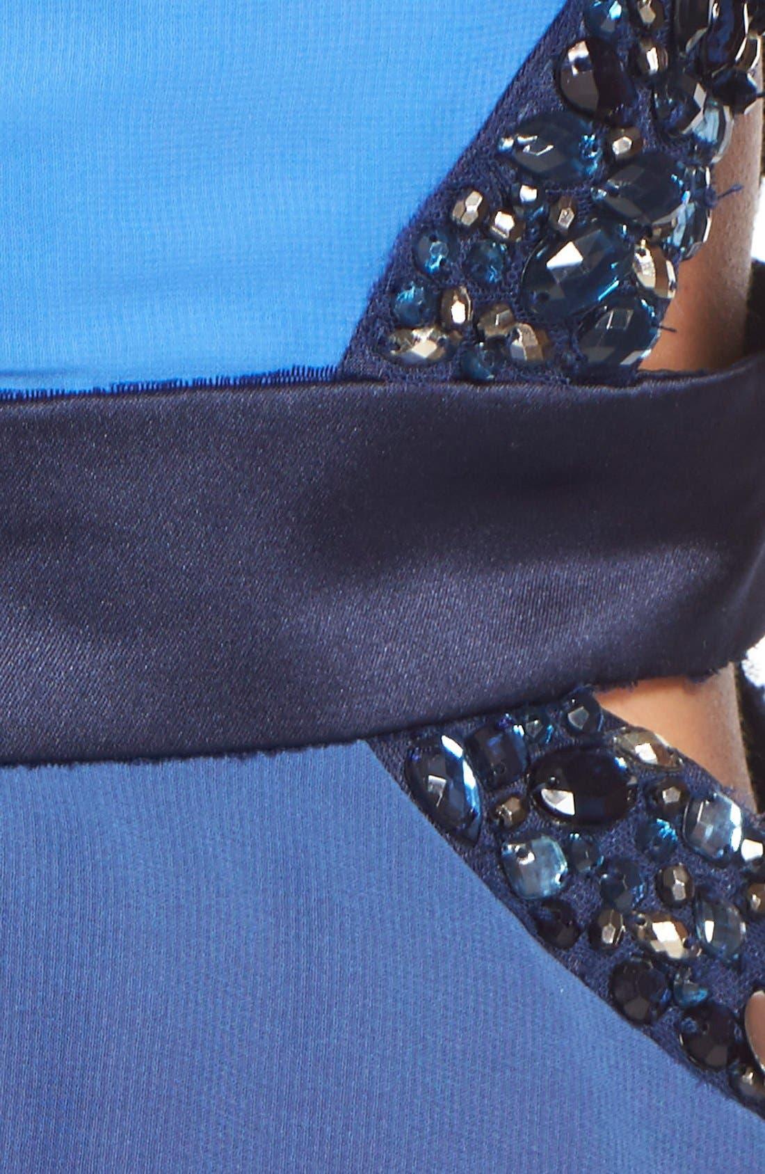 Alternate Image 5  - Dear Moon Embellished Side Cutout Skater Dress