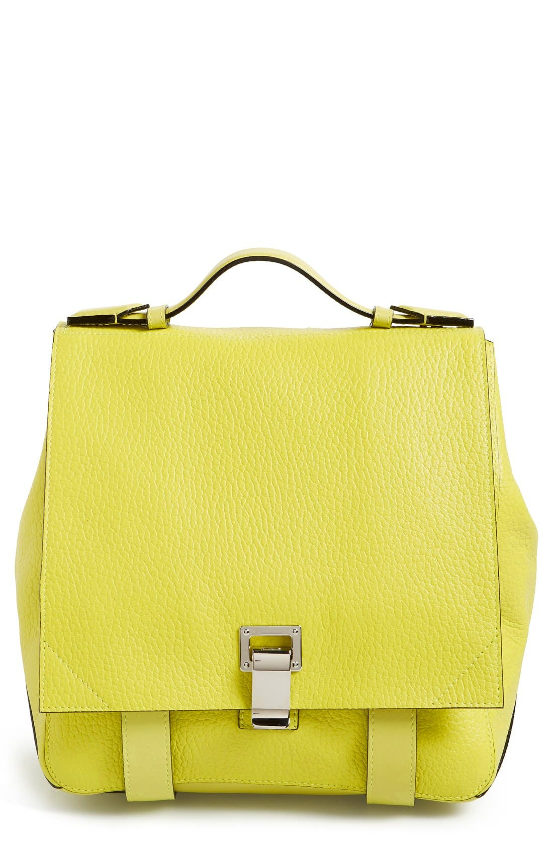 Alternate Image 1 Selected - Proenza Schouler 'Small PS Courier' Leather Backpack