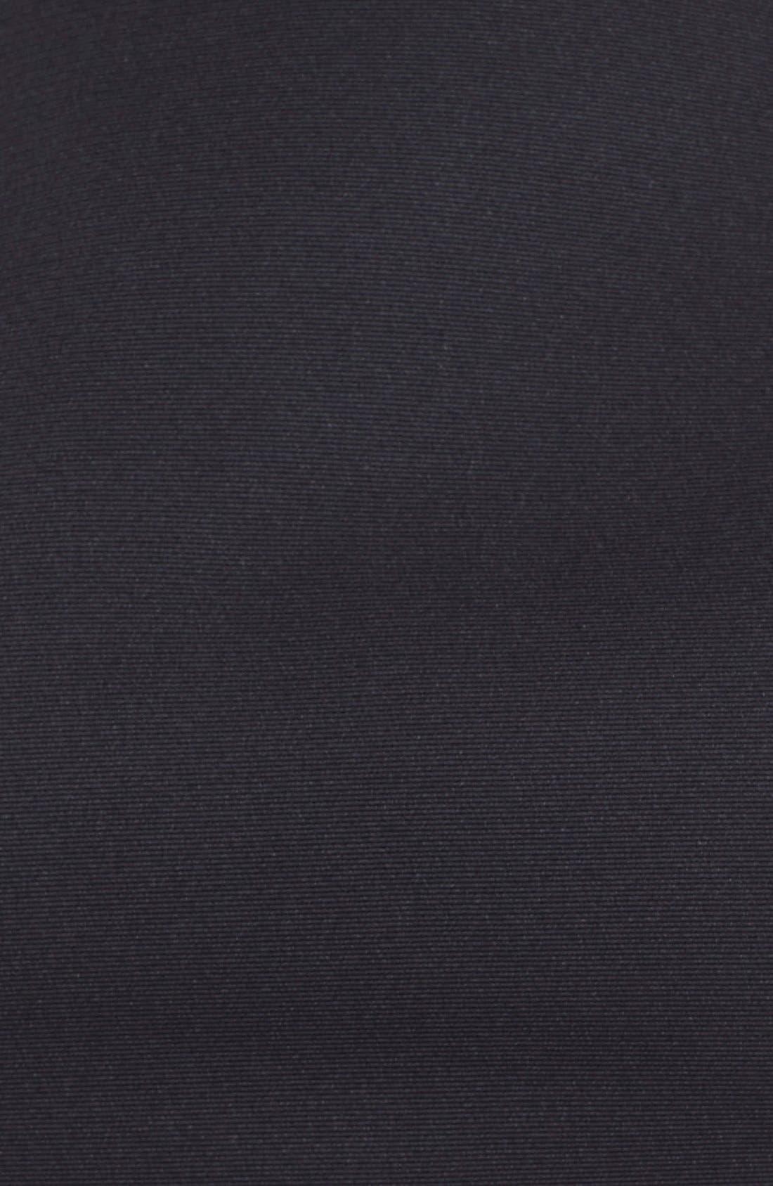 Alternate Image 5  - Halston Heritage Side Cutout Bateau Neck Satin Faille Fit & Flare Dress