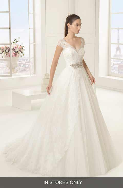 Rosa Clara 'Exotico' Beaded Lace   Tulle Ballgown (In Stores Only)