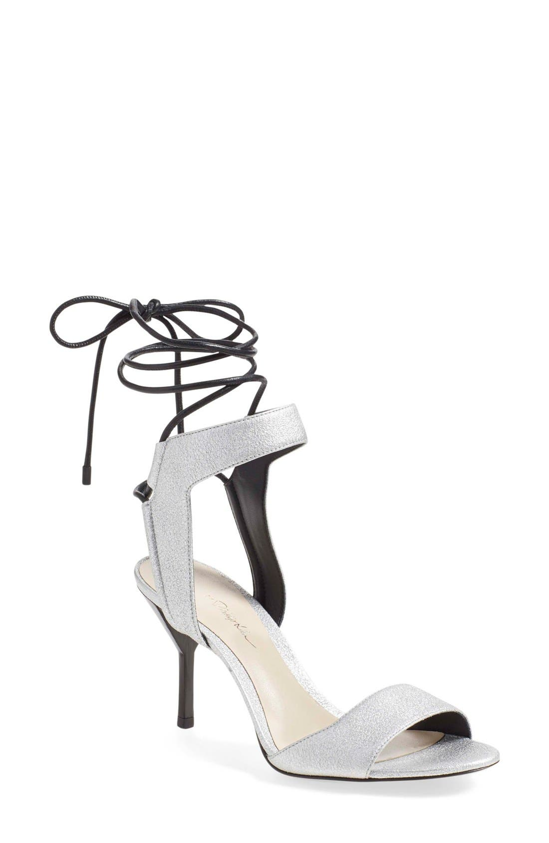 Alternate Image 1 Selected - 3.1 Phillip Lim 'Martini' Wraparound Ankle Strap Sandal (Women)