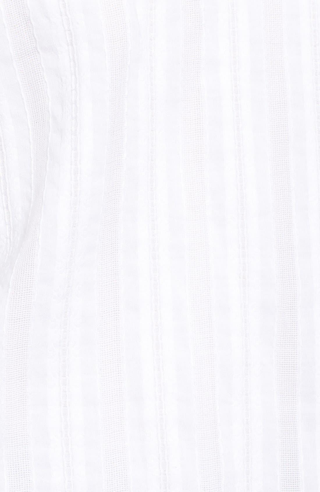 Alternate Image 5  - Bailey 44 'Yarrow' Woven Stripe Off the Shoulder Top