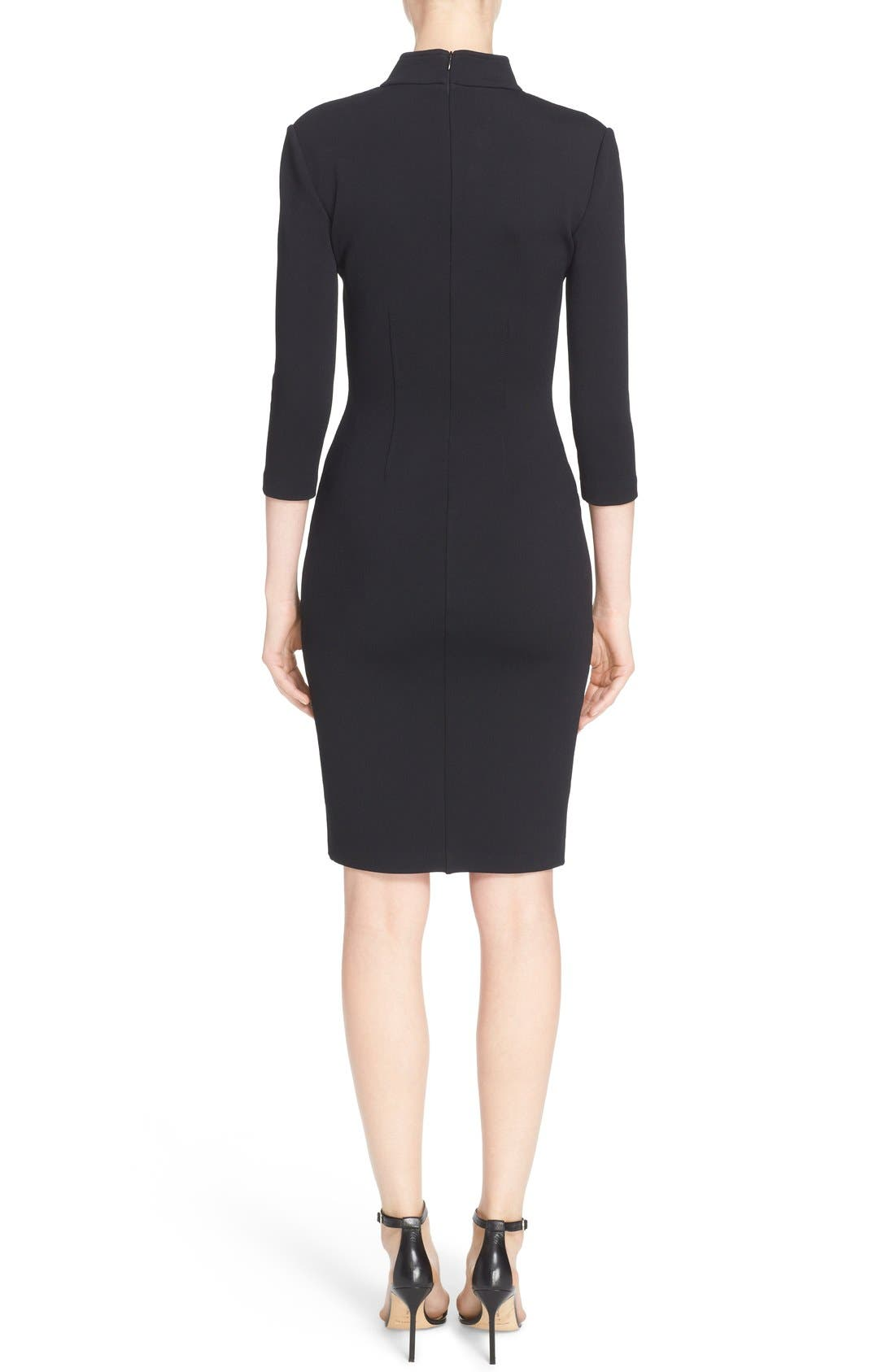 Alternate Image 2  - St. John Collection Luxe Sculpture Knit Sheath Dress