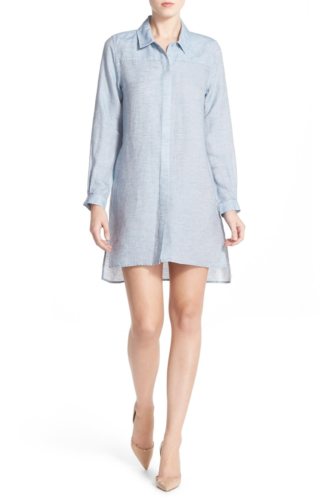 Alternate Image 4  - French Connection Chambray Shirtdress