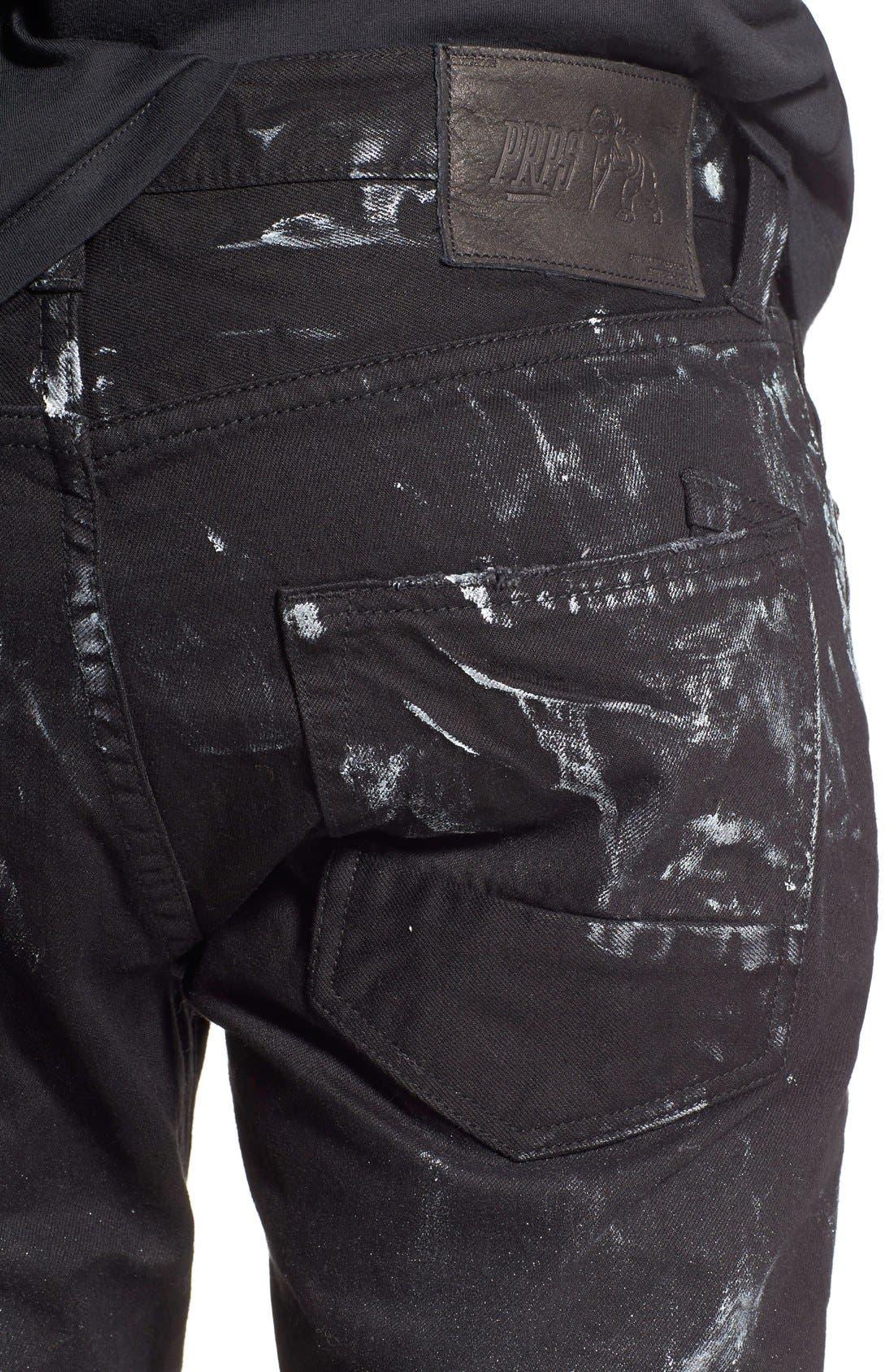 Alternate Image 4  - PRPS 'Demon' Slim Straight Leg Jeans (Mandrill)