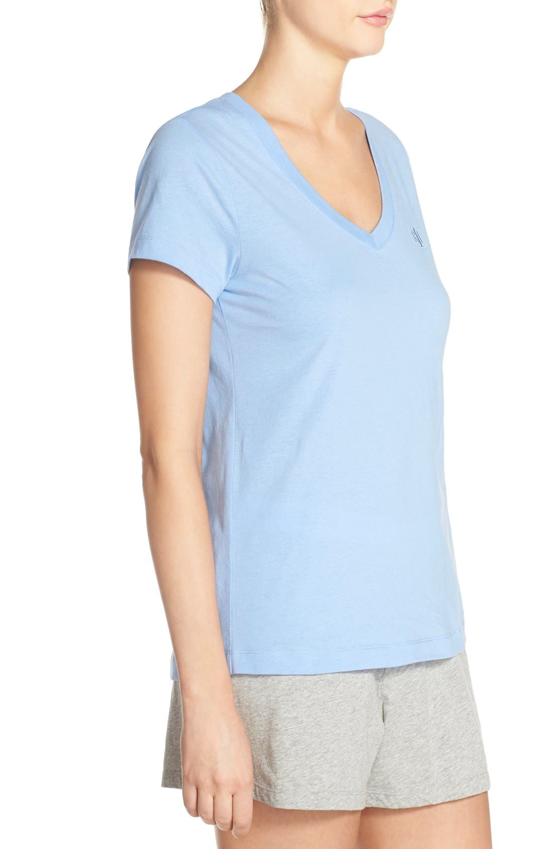 Alternate Image 3  - Lauren by Ralph Lauren Sleepwear Short Sleeve Sleep Tee