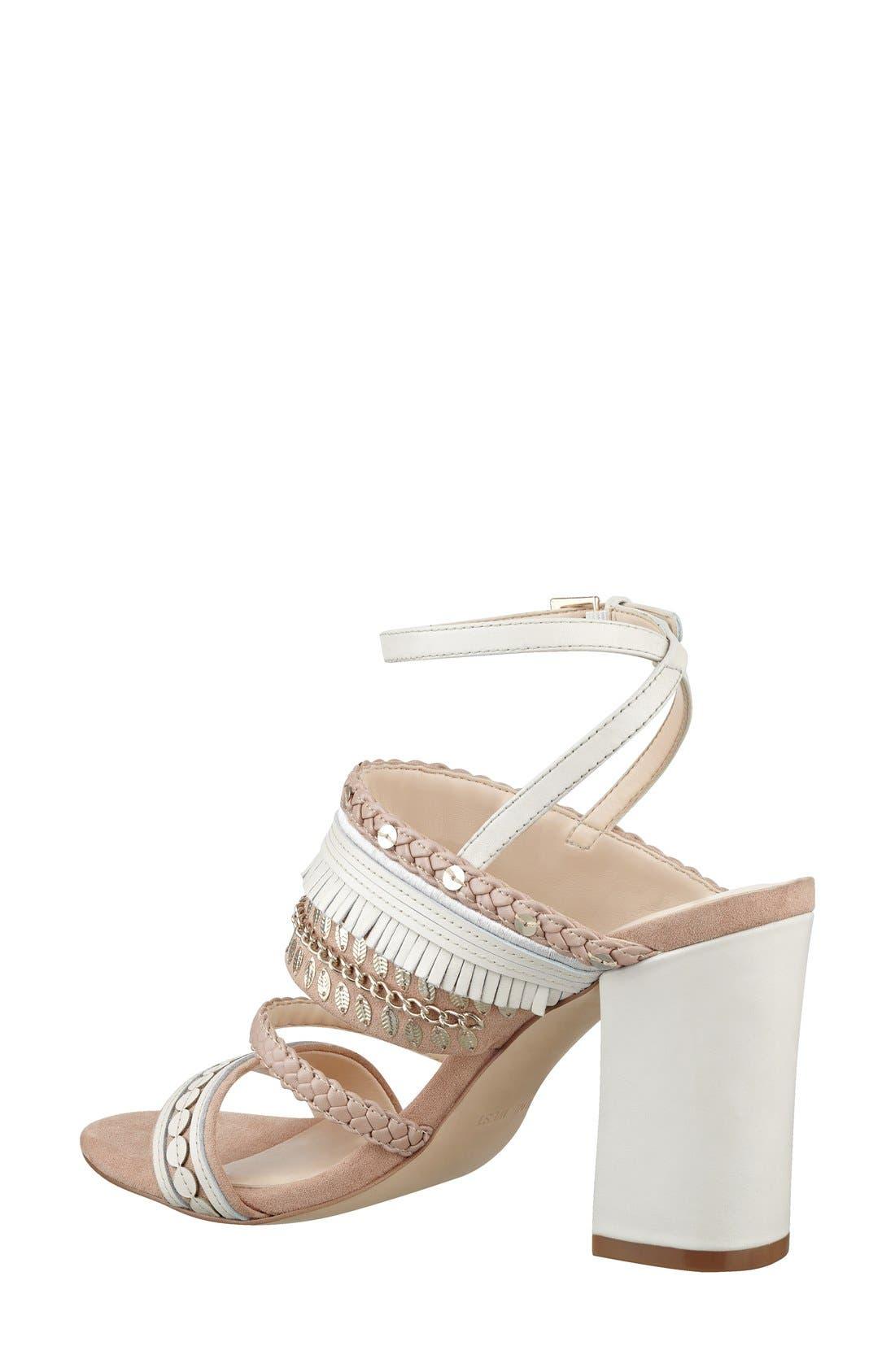 Alternate Image 2  - Nine West 'Baebee' Block Heel Sandal (Women)