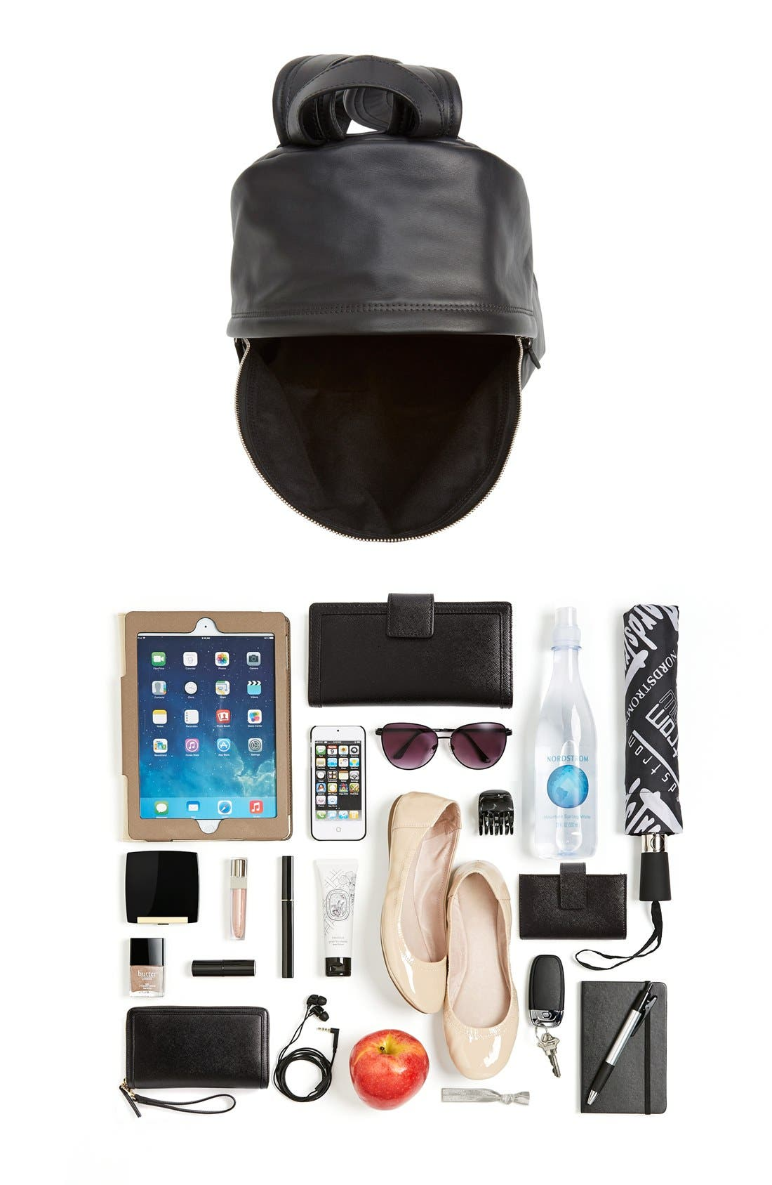 Alternate Image 7  - Givenchy Calfskin Leather Backpack