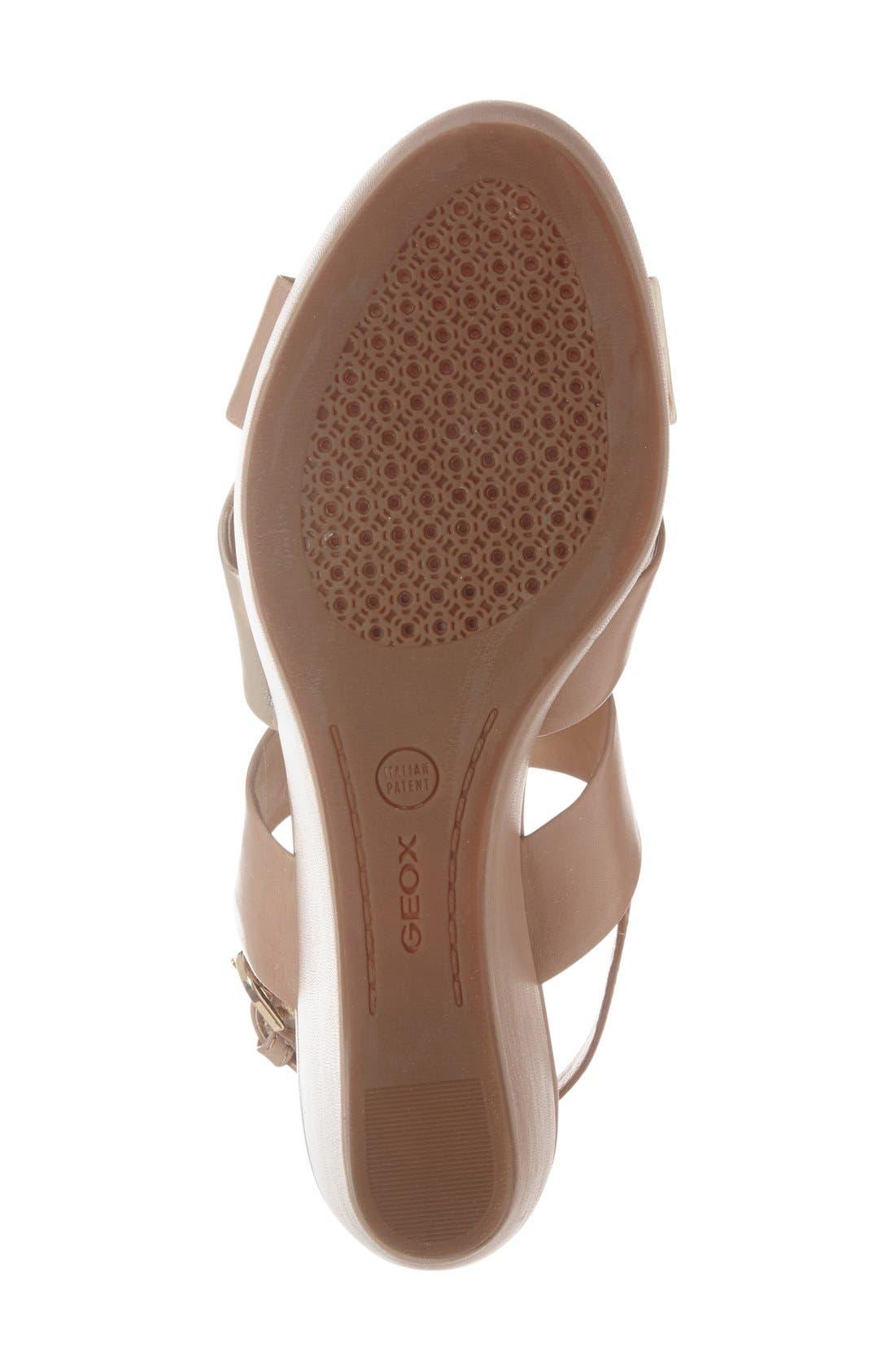 Alternate Image 4  - Geox 'Thelma' Platform Wedge Sandal (Women)